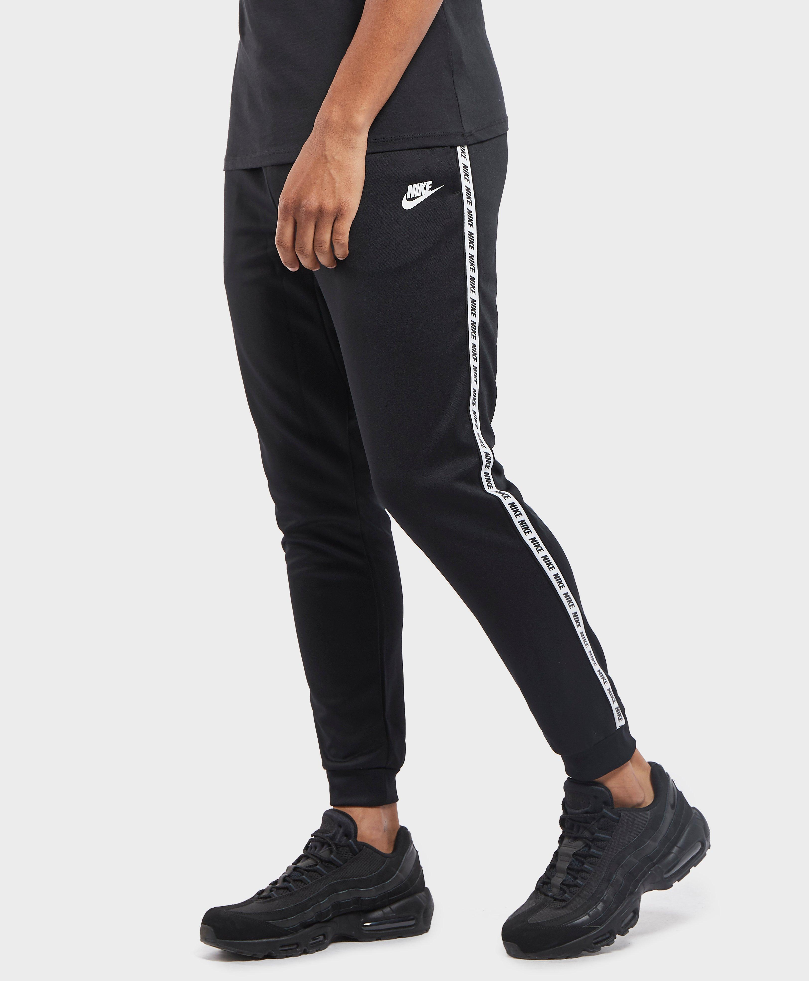 64aa94e252a Nike Gel Tape Cuffed Track Pants in Black for Men - Lyst