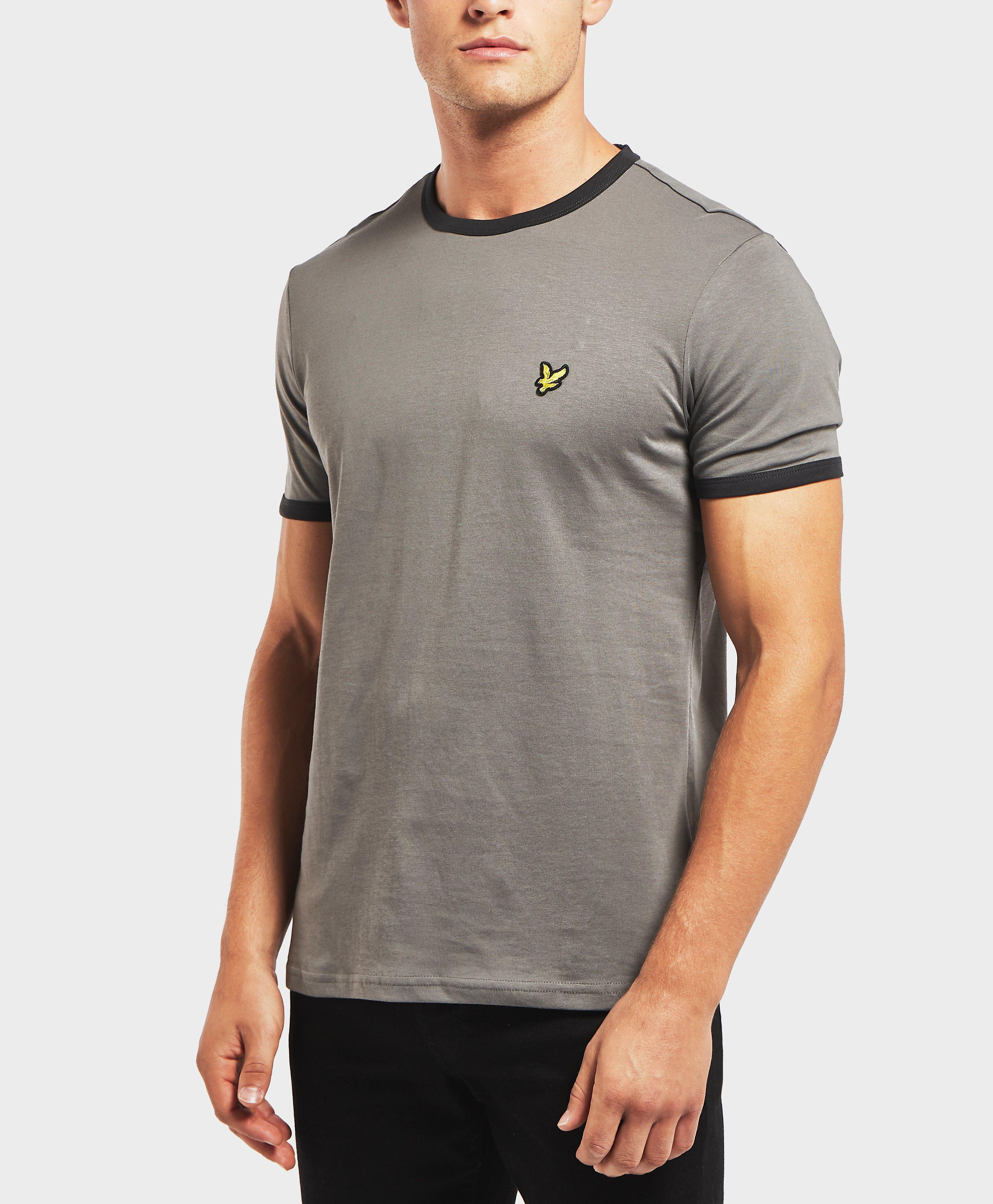 565bbd51e Lyst - Lyle & Scott Short Sleeve Ringer T-shirt in Gray for Men