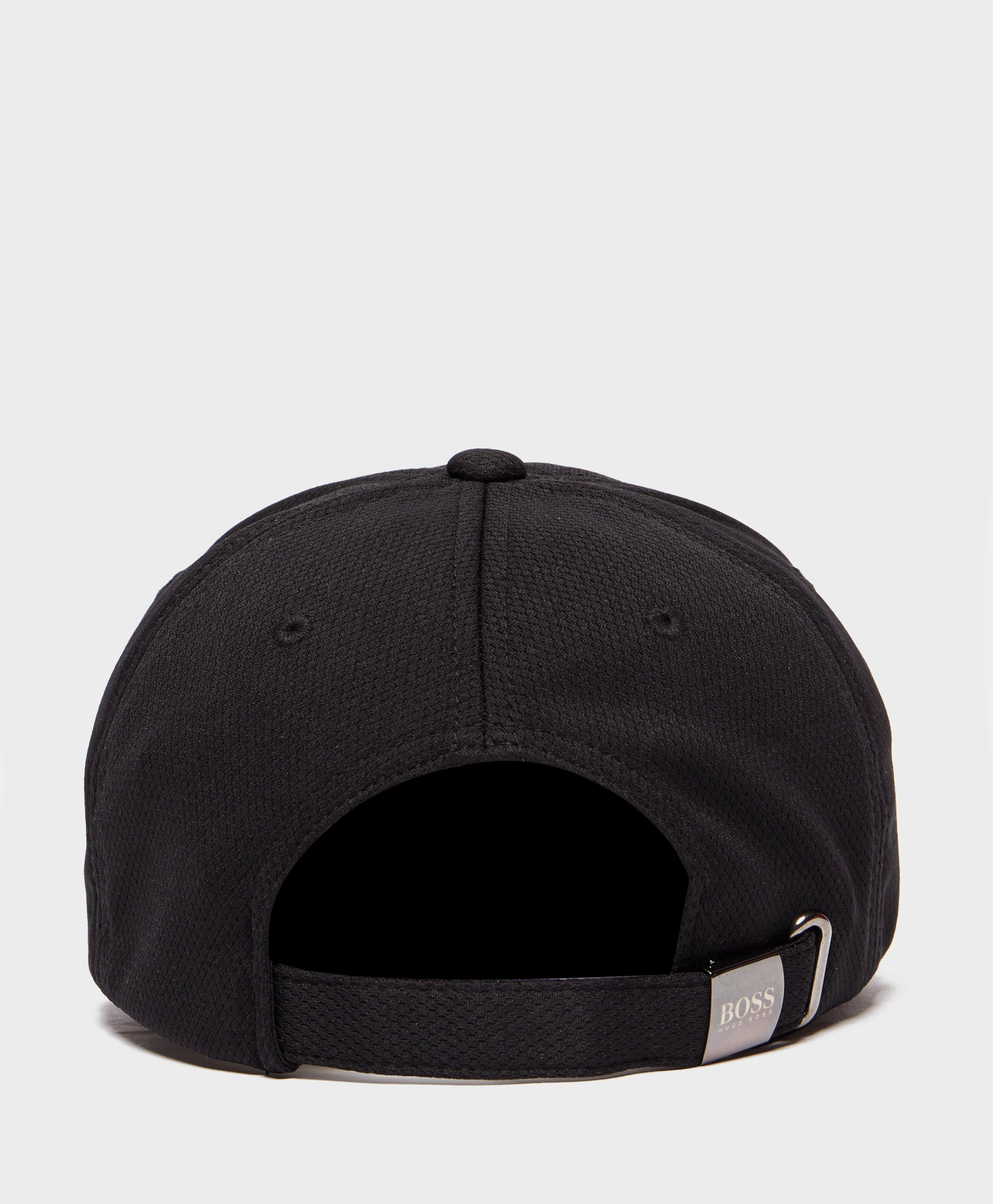 ef6d3cb79dc Lyst - BOSS Poly Print Cap in Black for Men