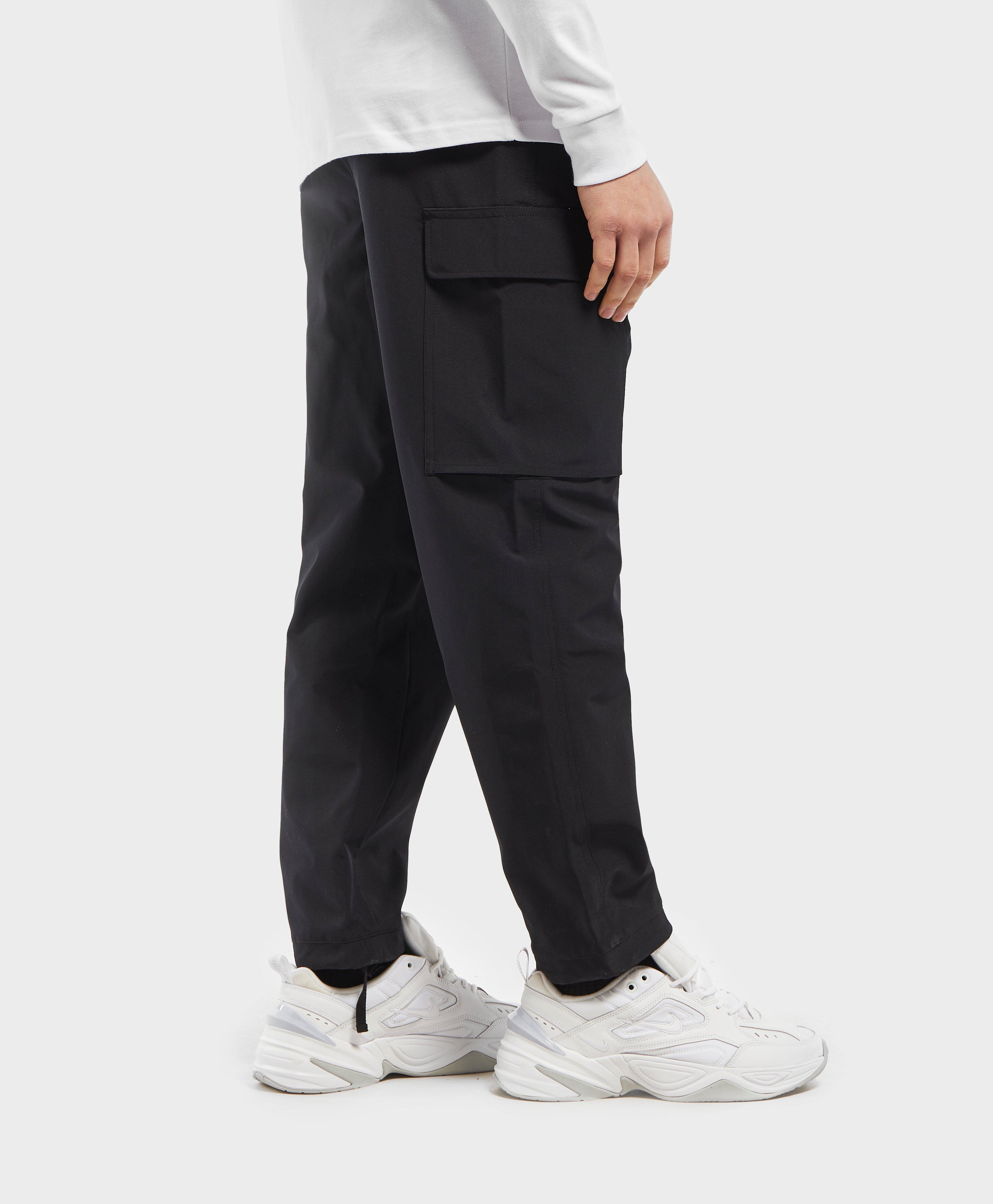 on feet at later new authentic Fila Synthetic Youla Cargo Pants in Black for Men - Lyst