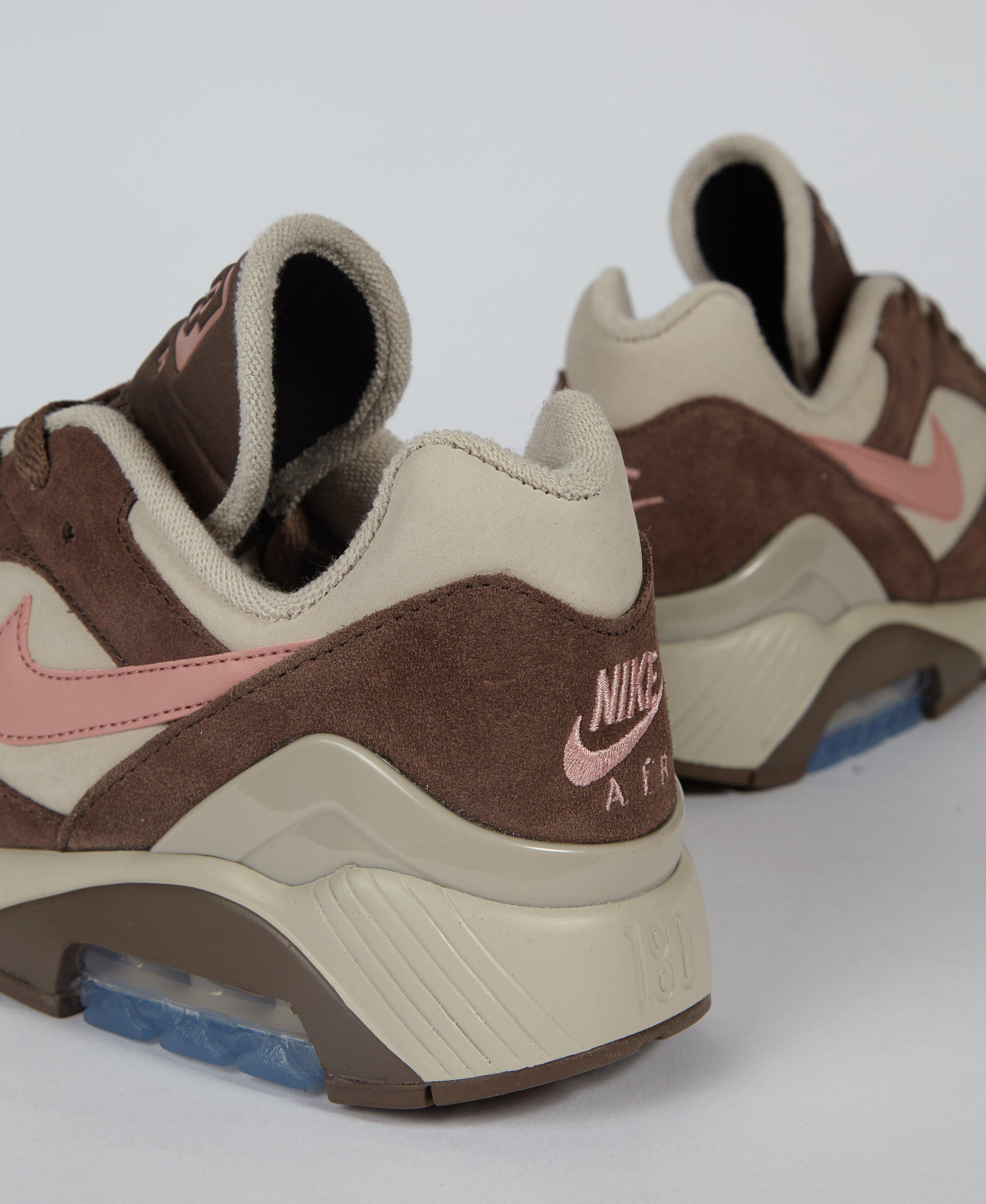 san francisco 0de01 acc77 Nike Air Max 180 String   Pink   Brown in Brown for Men - Lyst