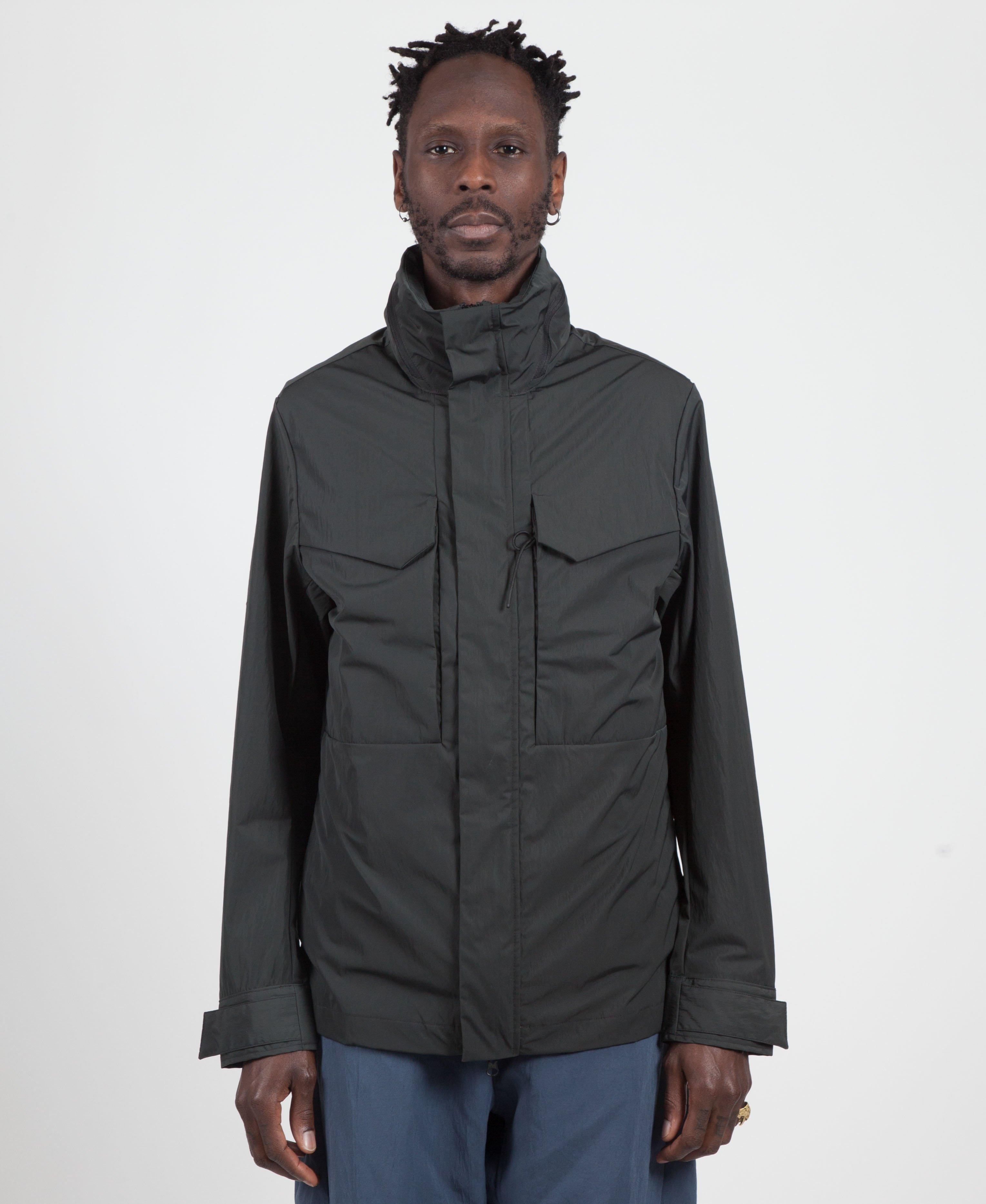 6b979c20df Lyst - Nike Anthracite 3 In 1 Tech Jacket in Gray for Men