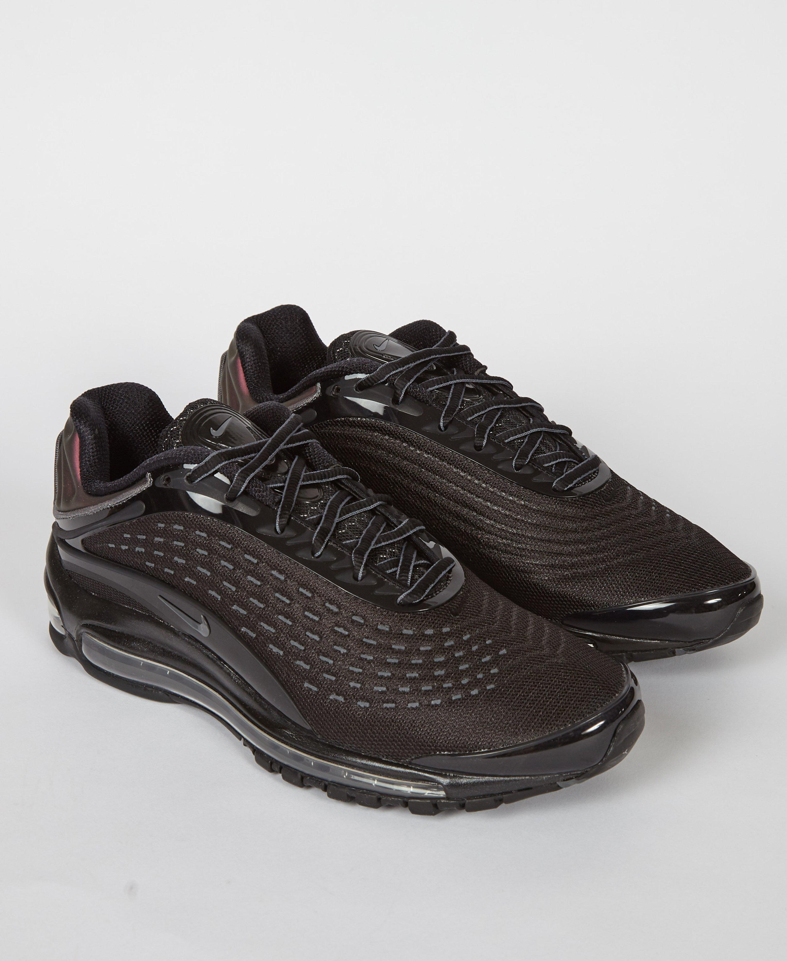 a3d95583627 Nike Air Max Deluxe  triple Black  in Black for Men - Lyst