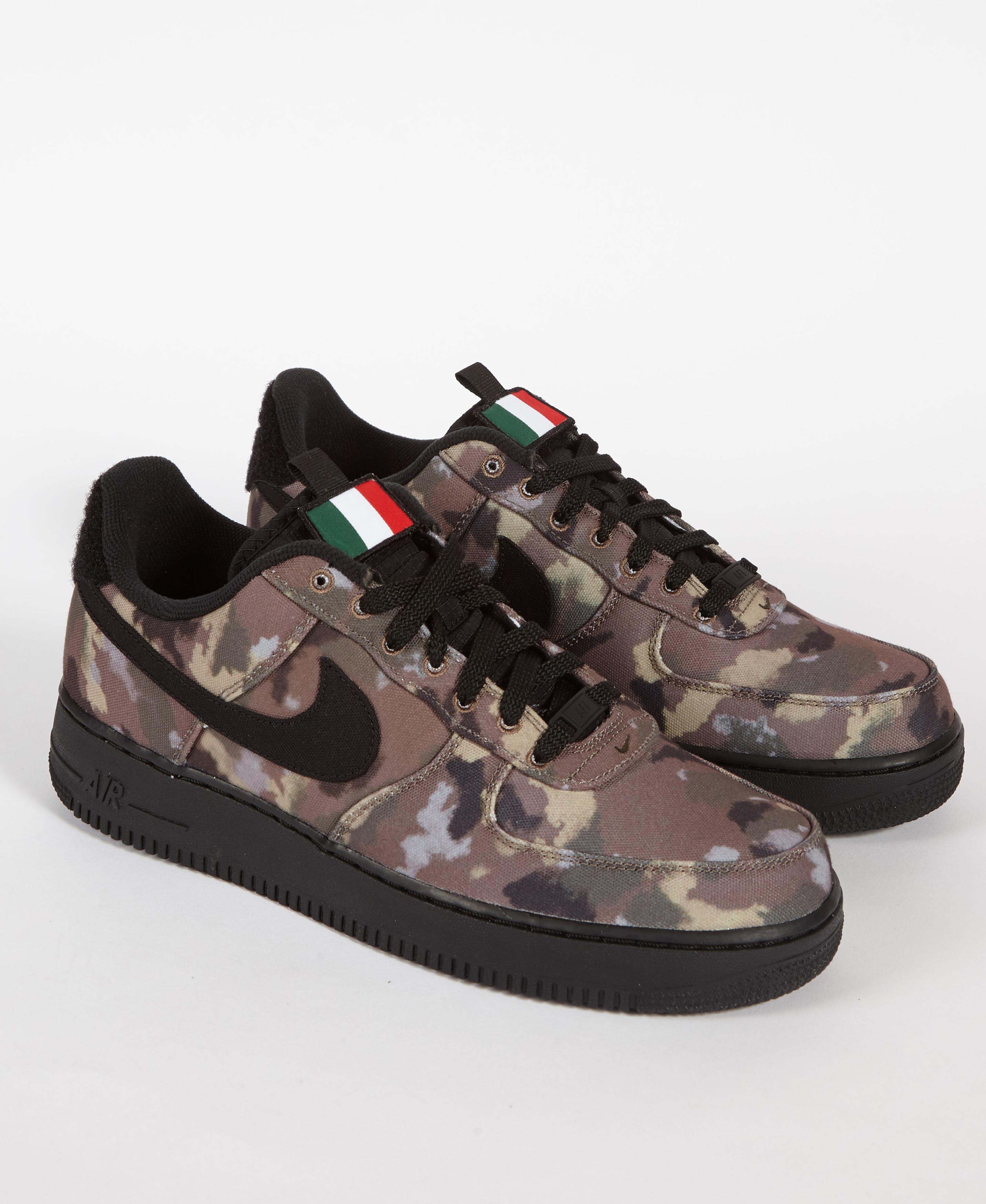 2649a315204af Nike Air Force 1 '07 Ale Brown/ Black-cargo Khaki in Black for Men ...
