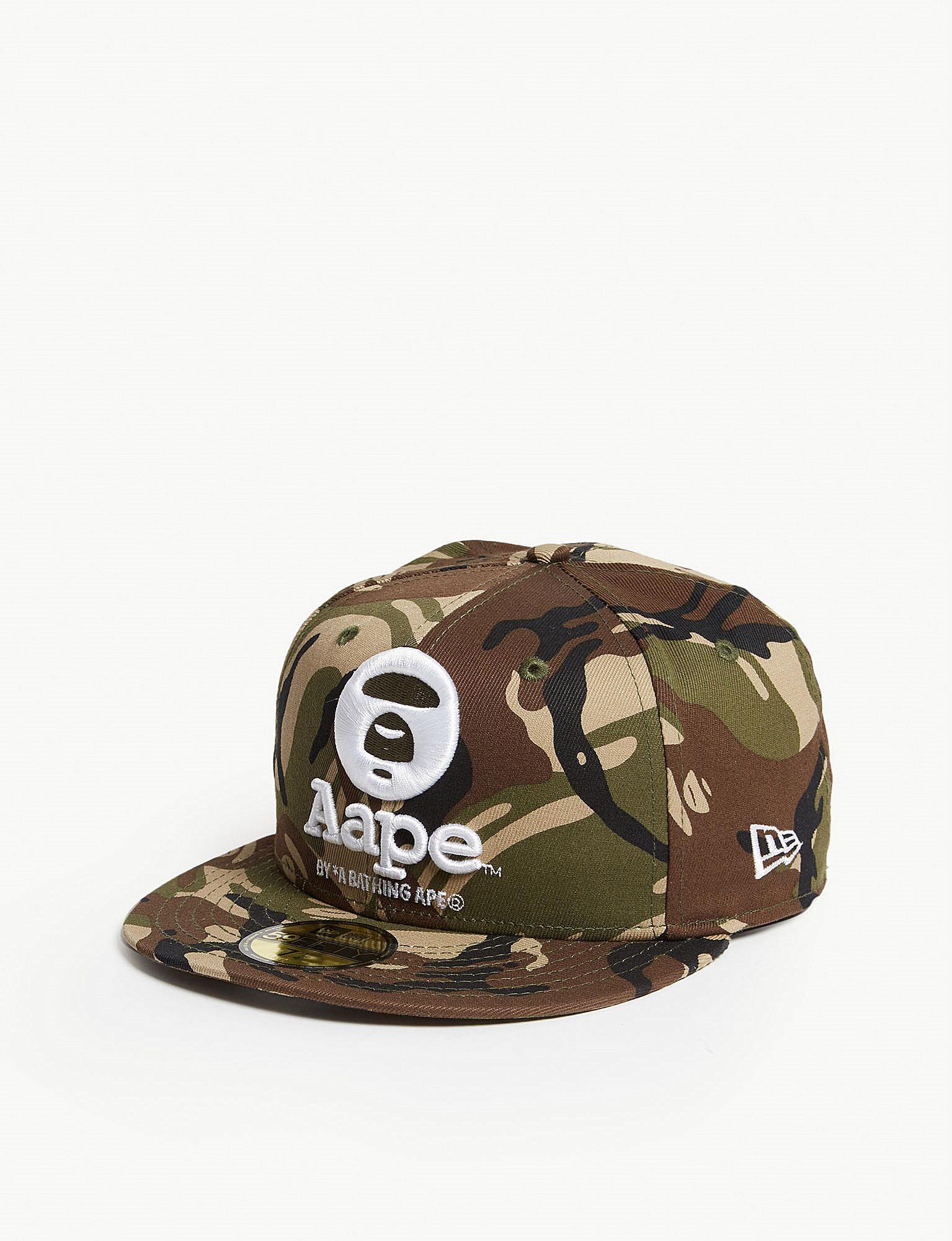 b028afea407 Lyst - Aape New Era Ape Logo Wool Snapback Cap for Men