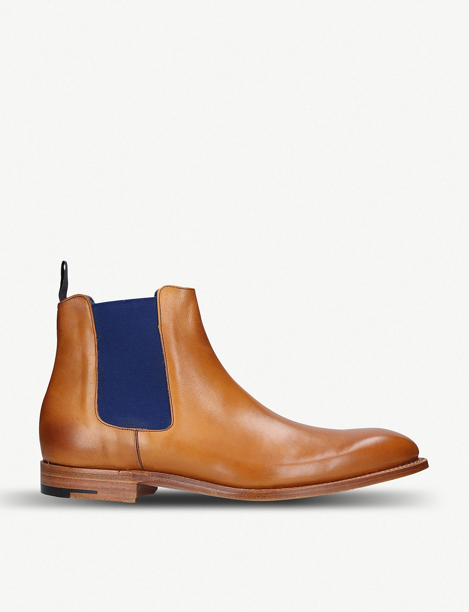 718614bad40 Barker Hopper Leather Chelsea Boots in Brown for Men - Lyst