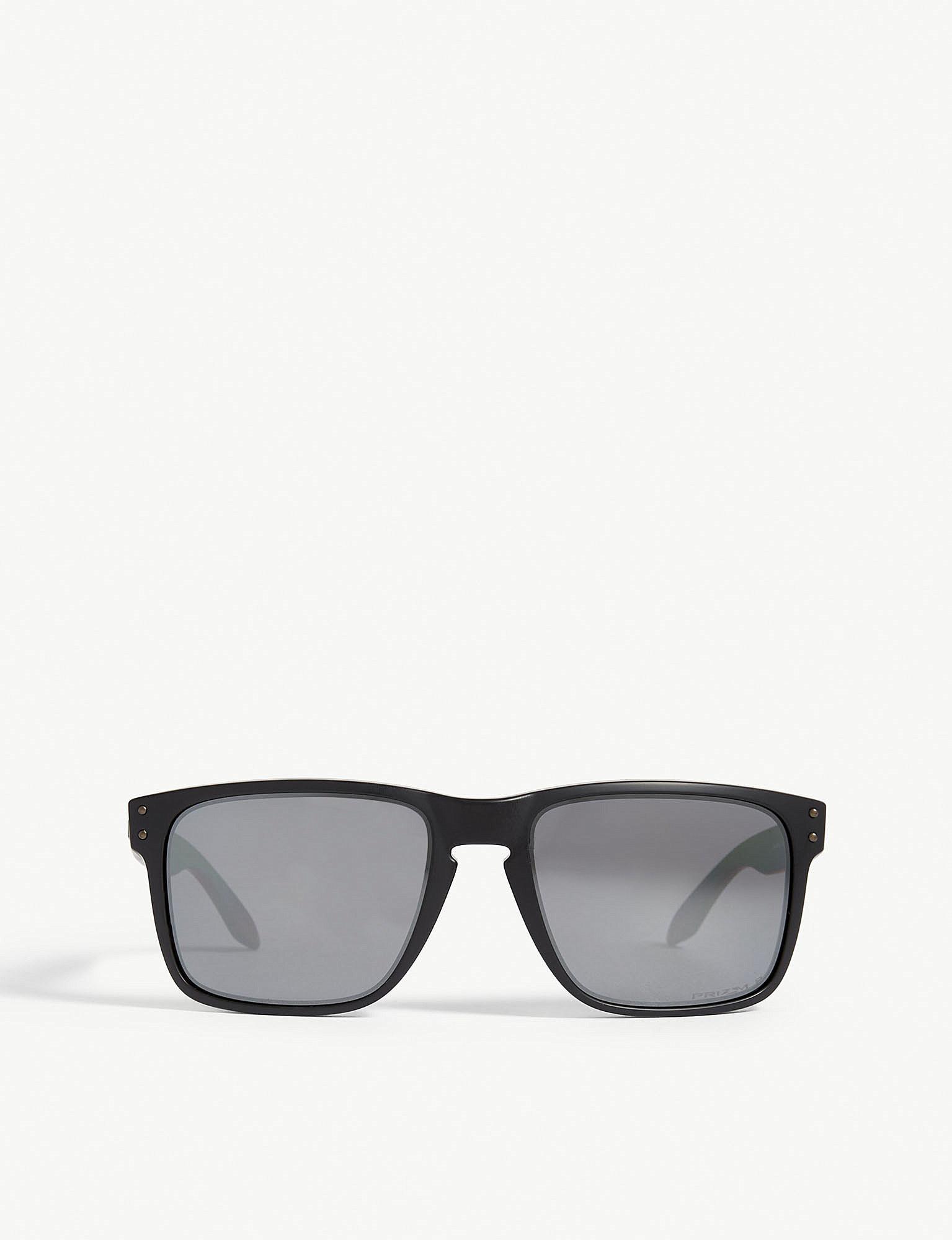 e02e4bf727c Oakley. Mens Black Modern Holbrook Xl O-matter Polarised Square-frame  Sunglasses