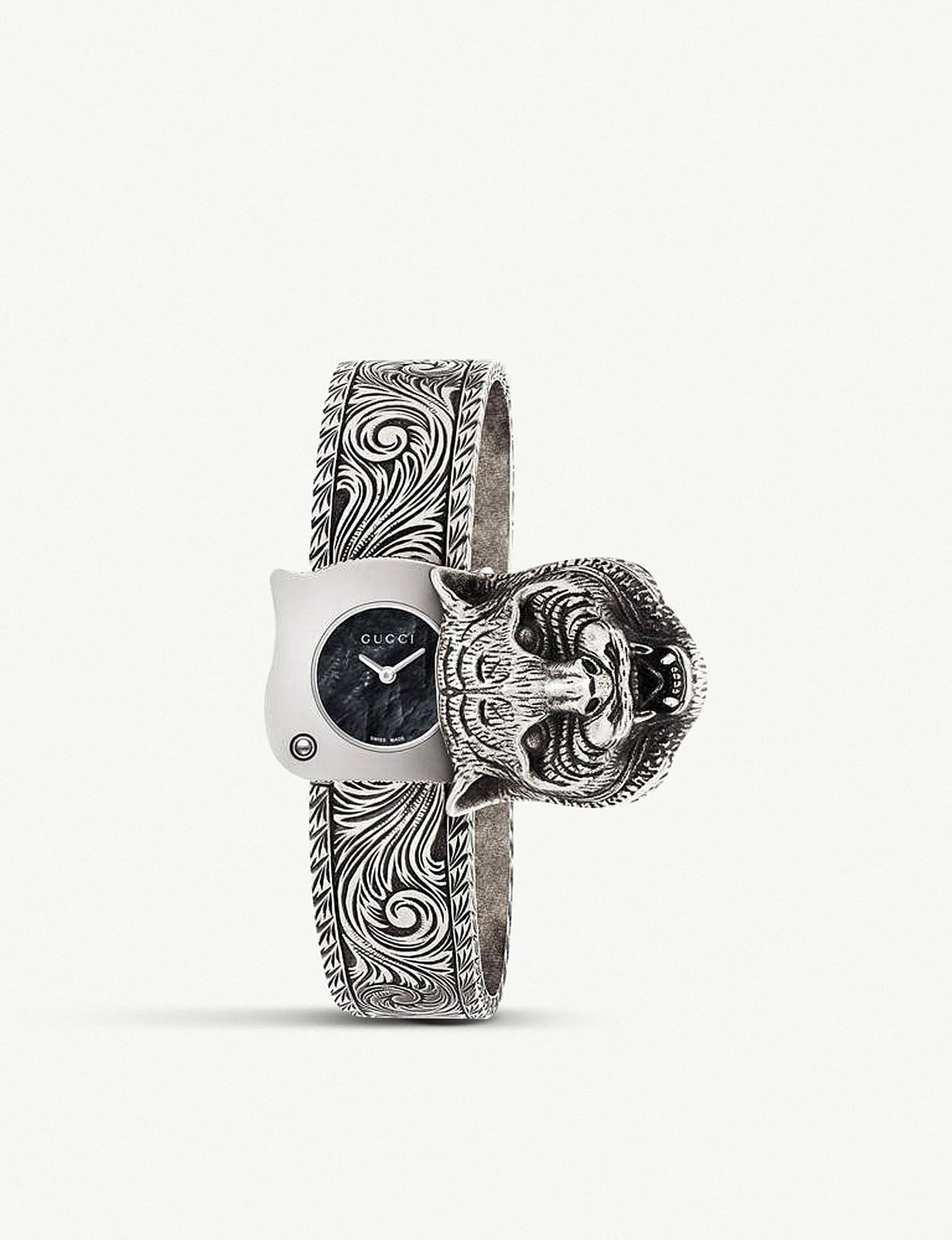 b672d48477e Gucci. Women s Metallic Ya146501 Le Marché Des Merveilles Stainless Steel  Watch