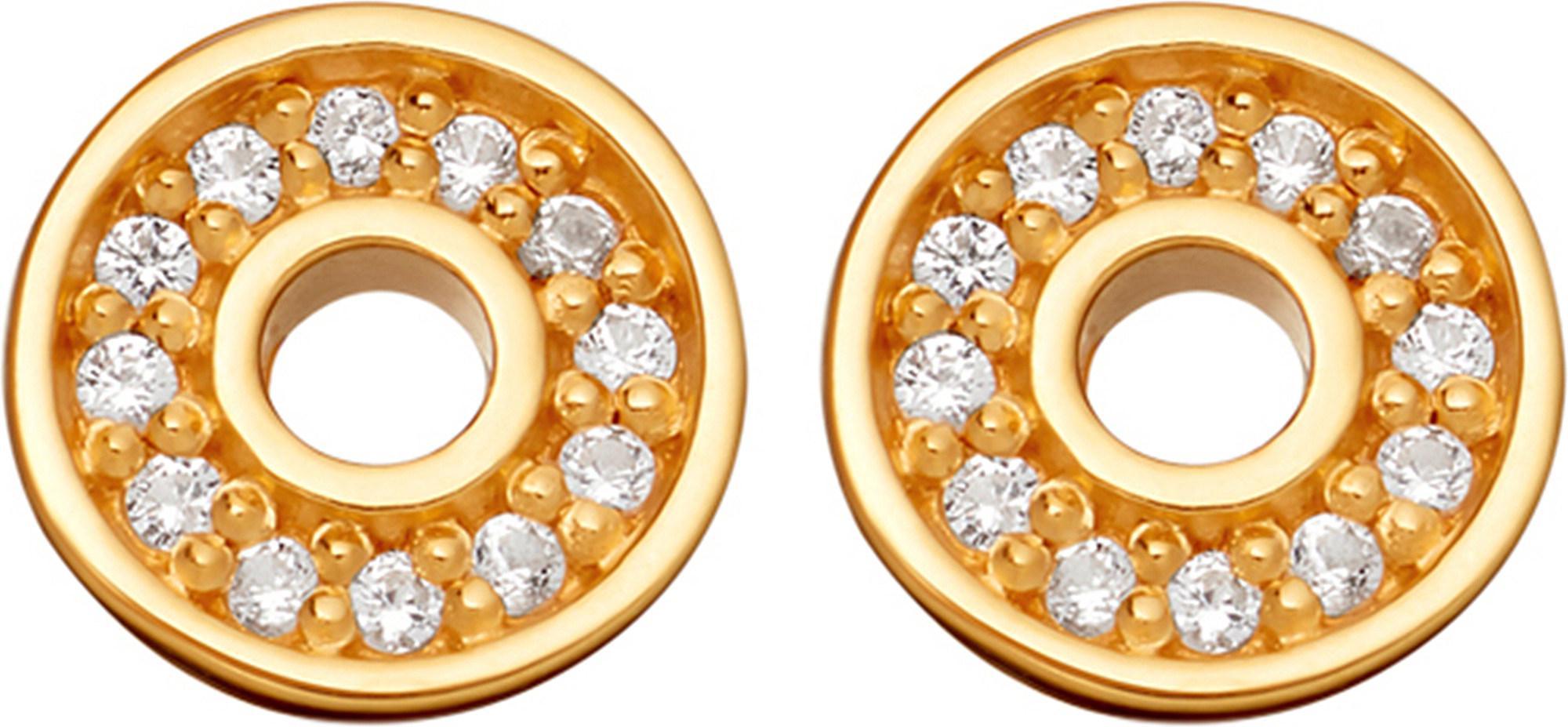 Mini Open Halo Biography stud earrings - Metallic Astley Clarke lt1Iz