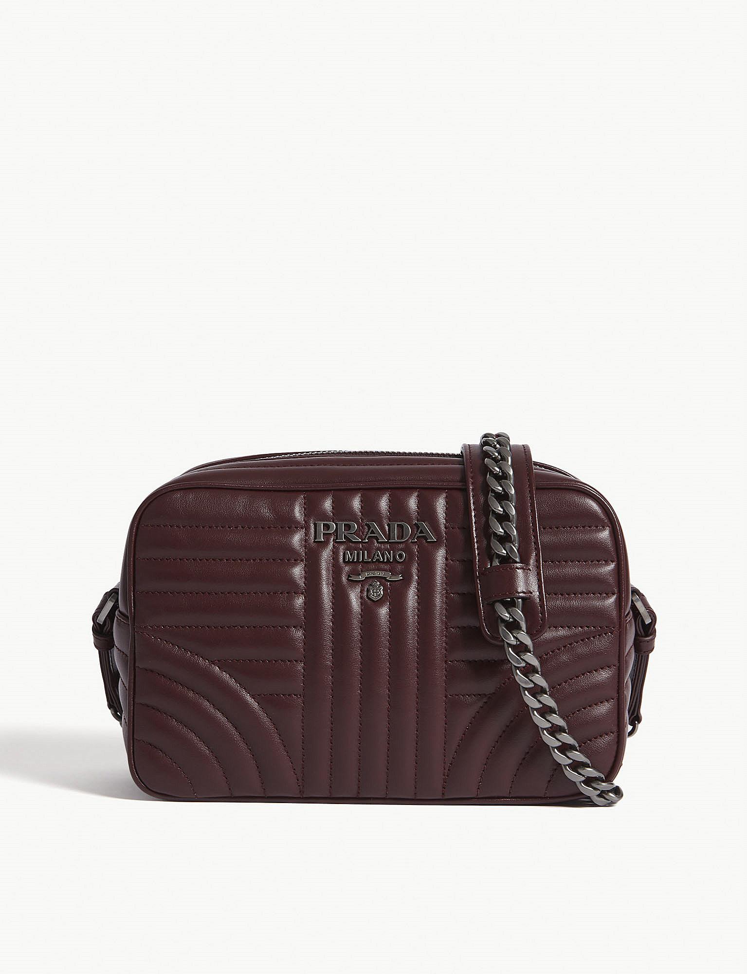 ee1abcf5c44d Prada. Women s Leather Diagramme Camera Bag