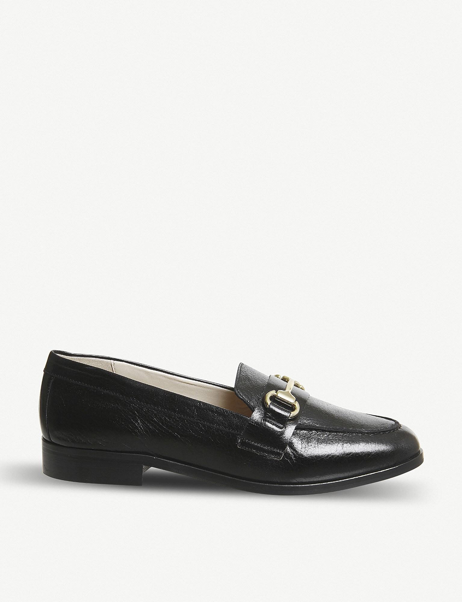 f99761f9a2a Lyst - Office Fluster Leather Loafers in Black