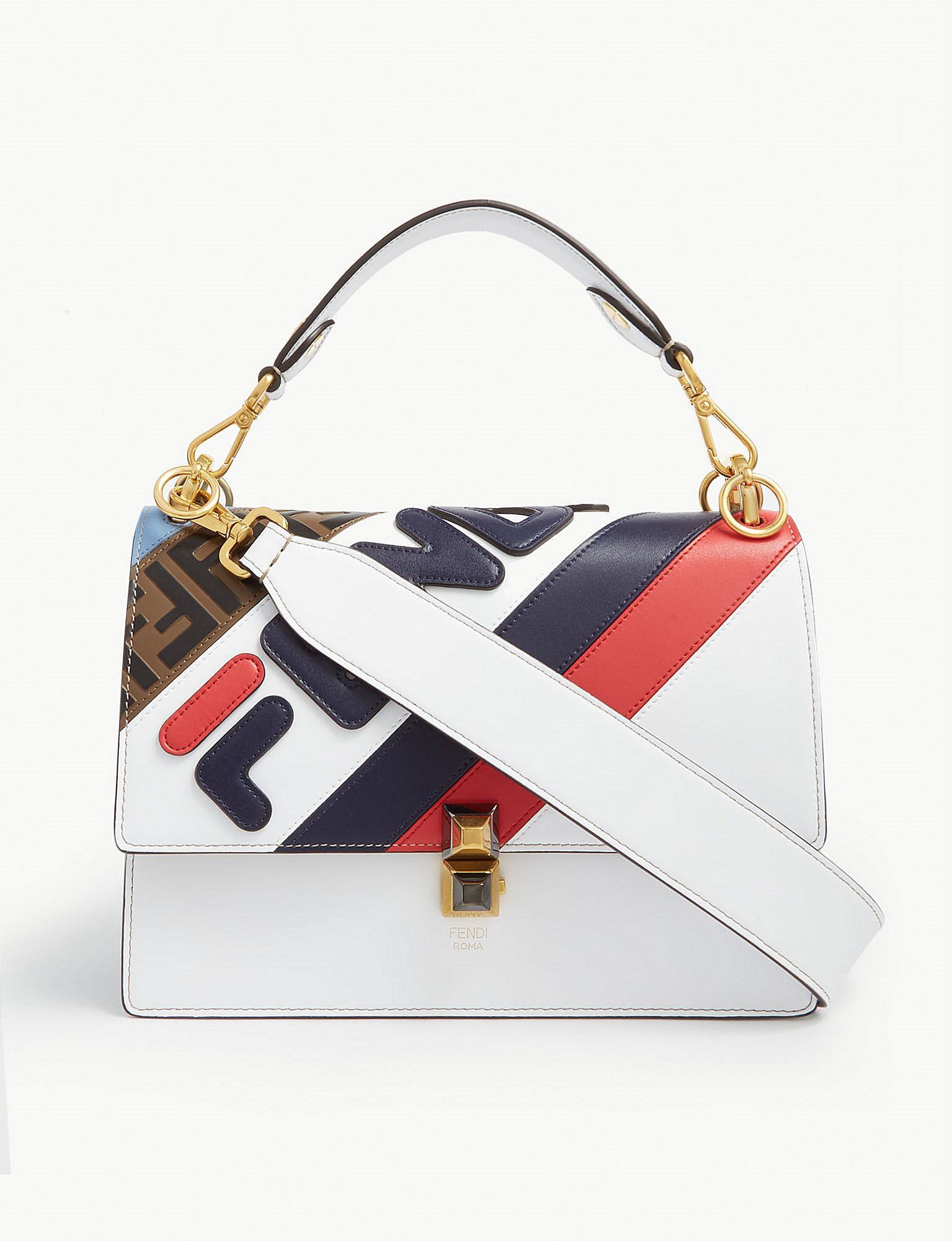 e796ea968b Lyst - Fendi Fila Shoulder Bag
