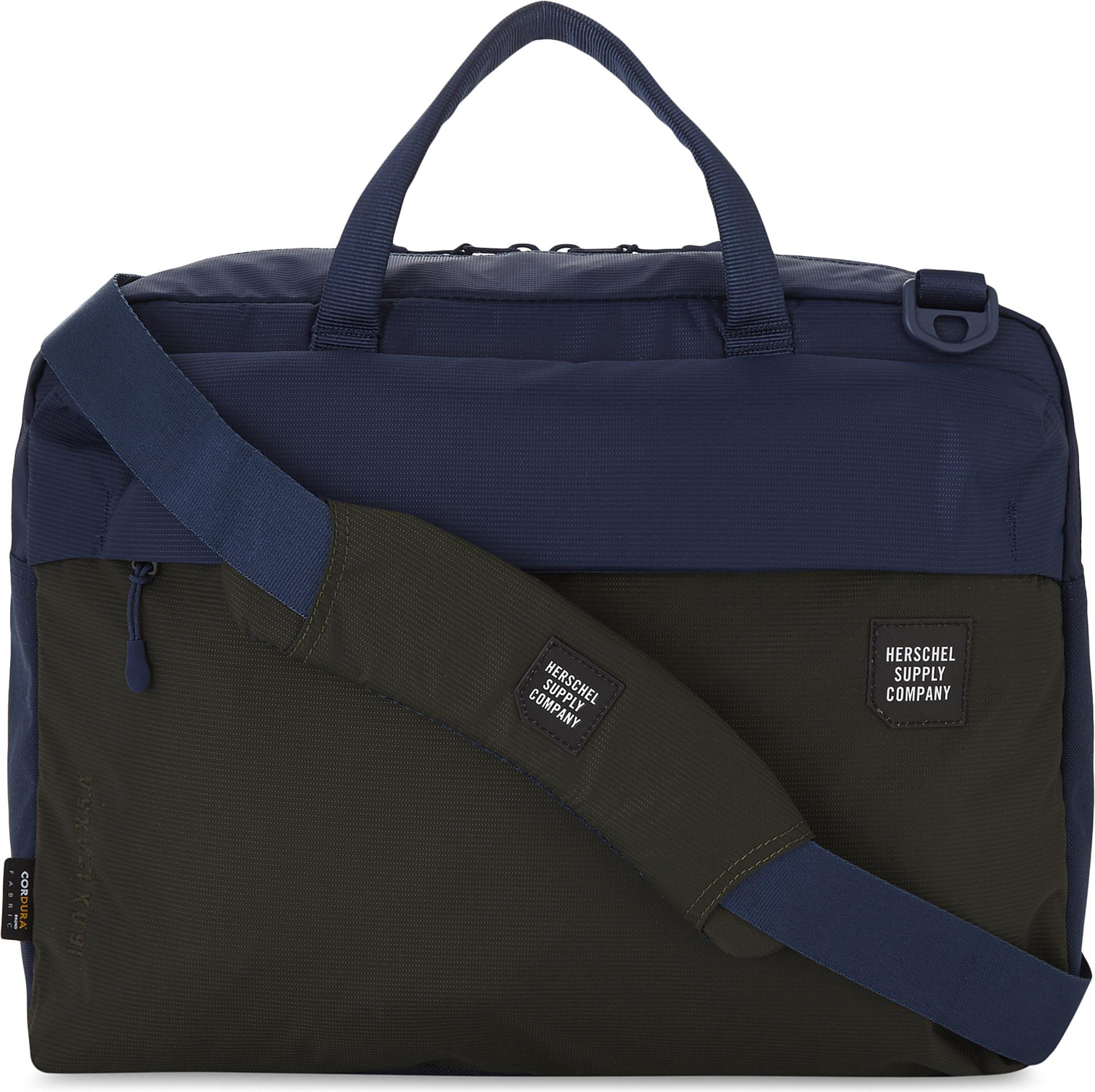 b2c1586aa22 Herschel Supply Co. Britannia Two-tone Messenger Bag in Blue - Lyst