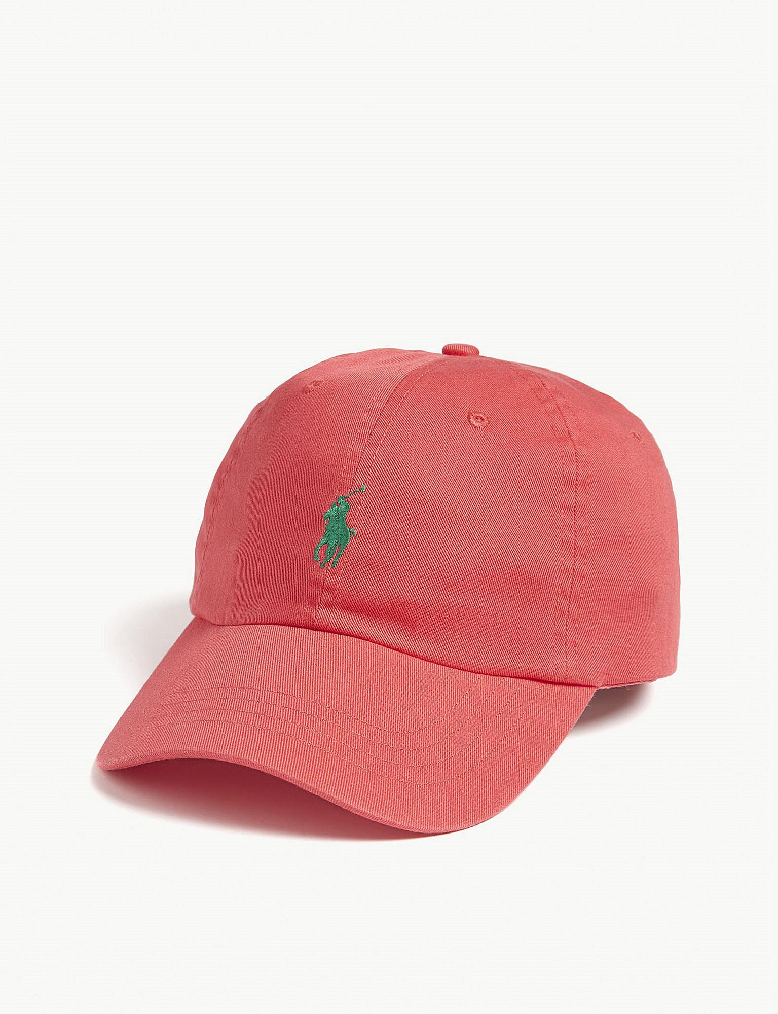 c720aaffaae534 Polo Ralph Lauren Pony Baseball Cap in Red for Men - Lyst