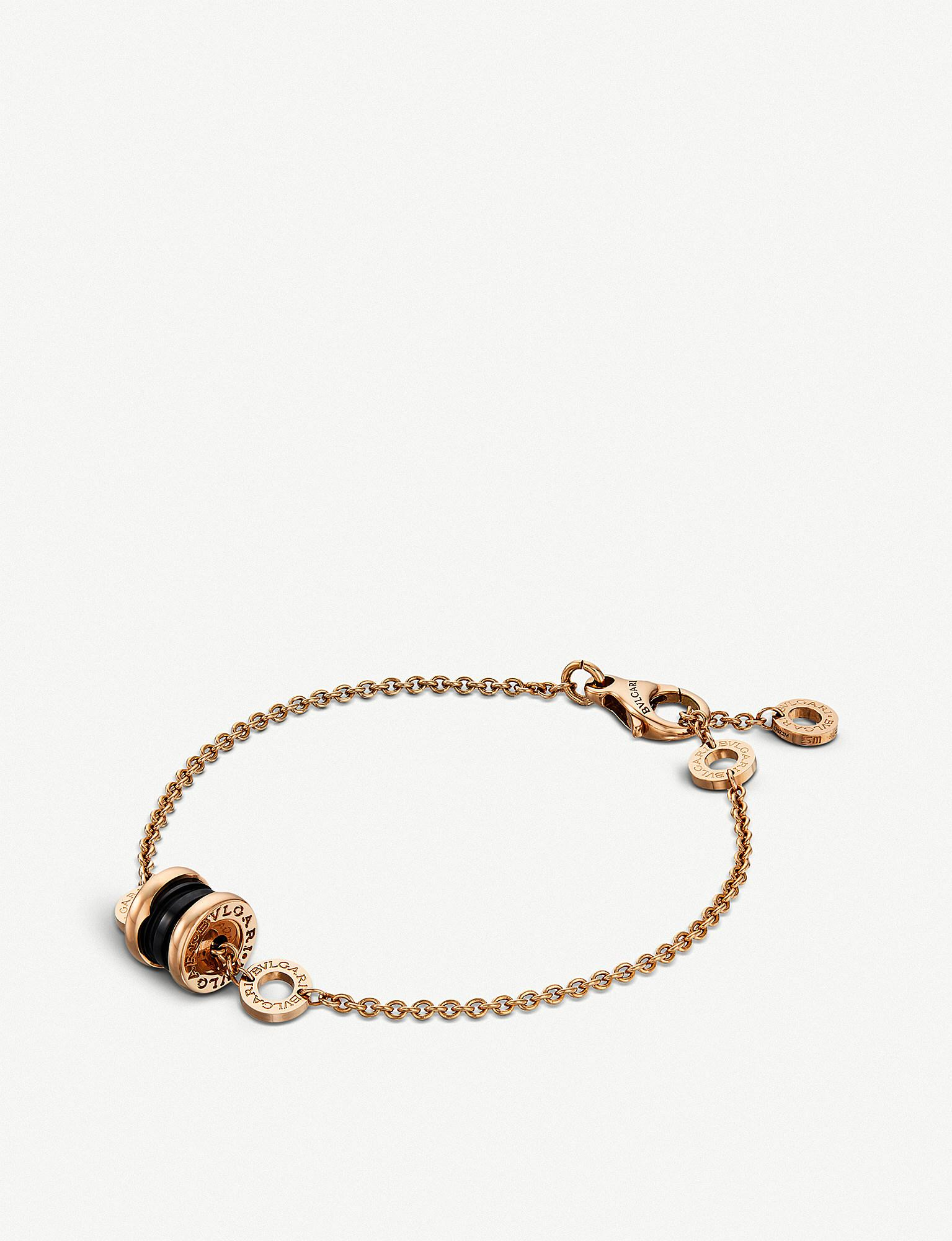 b23191f2a4dee ireland bvlgari b.zero1 ssoft bracelet in rose gold e2744 6eba4