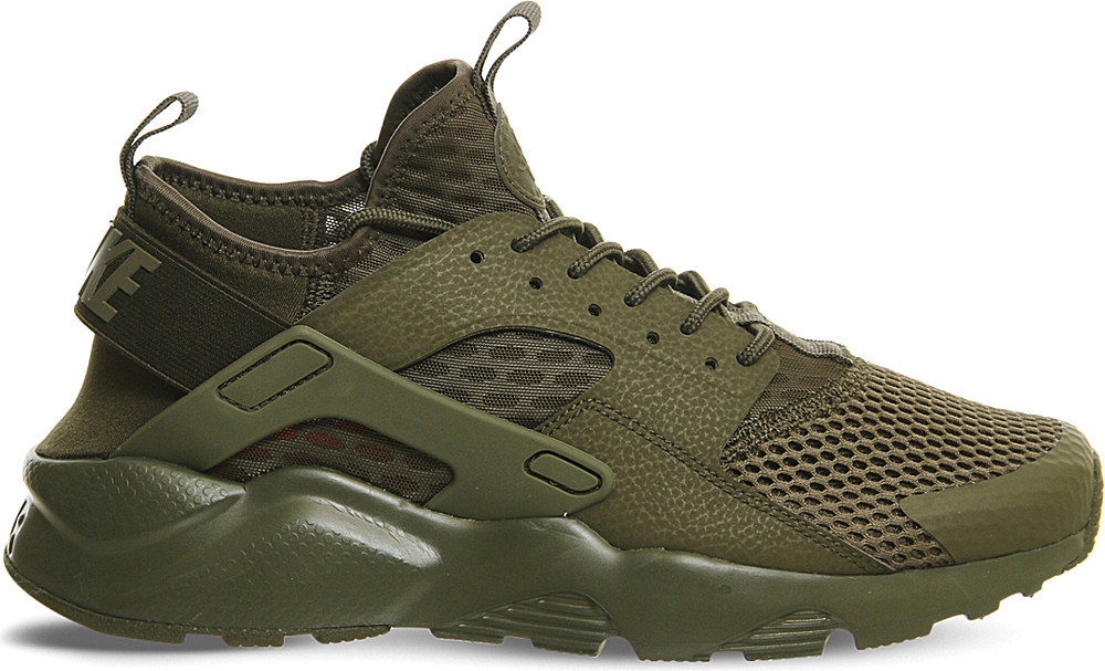 099edc7429 ... medium olive trainer 10070 385d1; new zealand lyst nike air huarache  run ultra trainers in brown for men 74f26 a1bdc