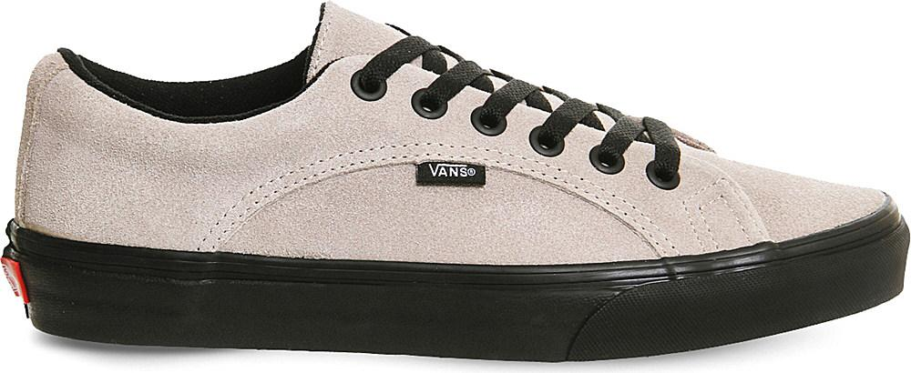 a92291b5e2 Lyst - Vans Lampin Suede Trainers in Black for Men