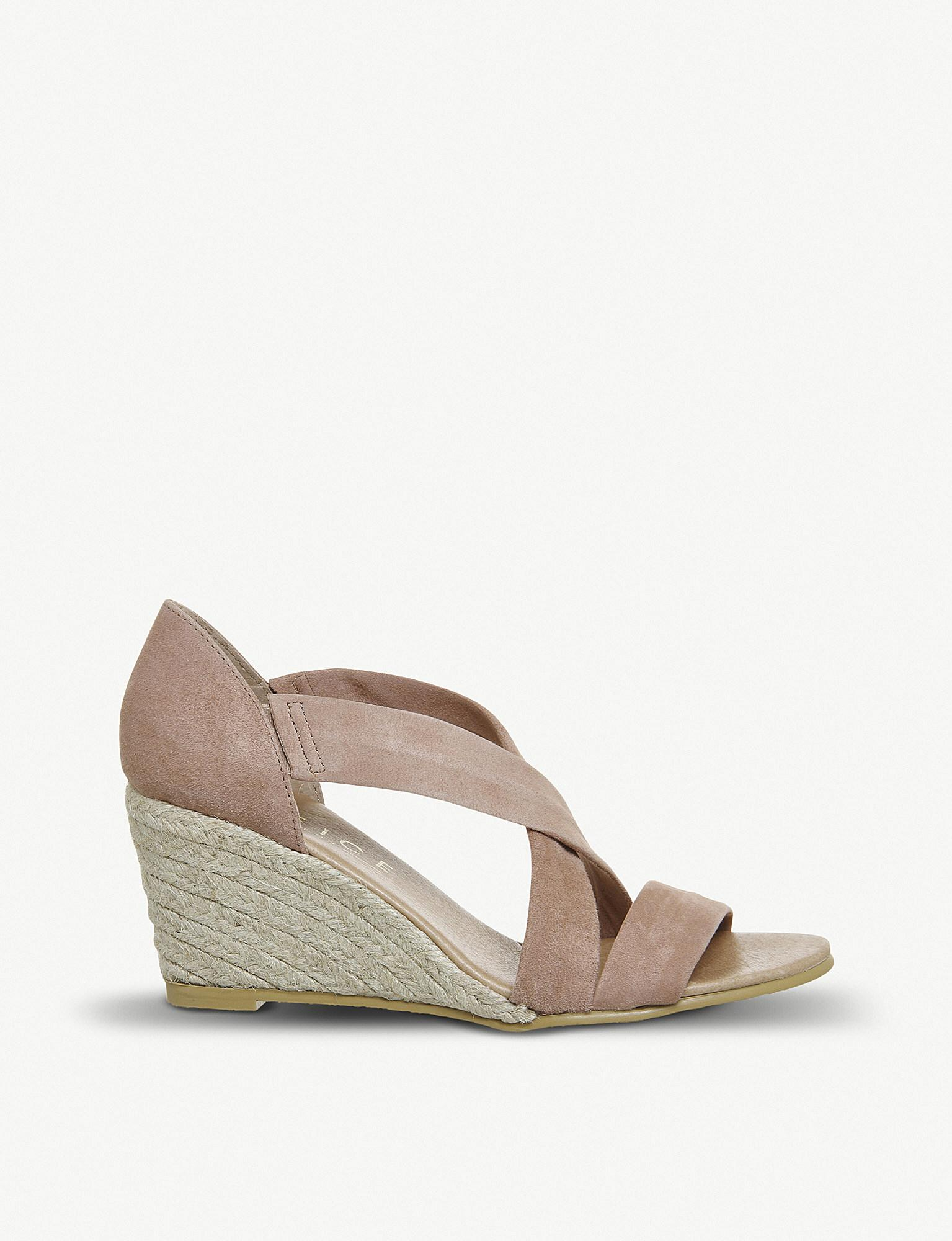 OfficeMAIDEN - Wedge sandals - rose gold AFnVIph
