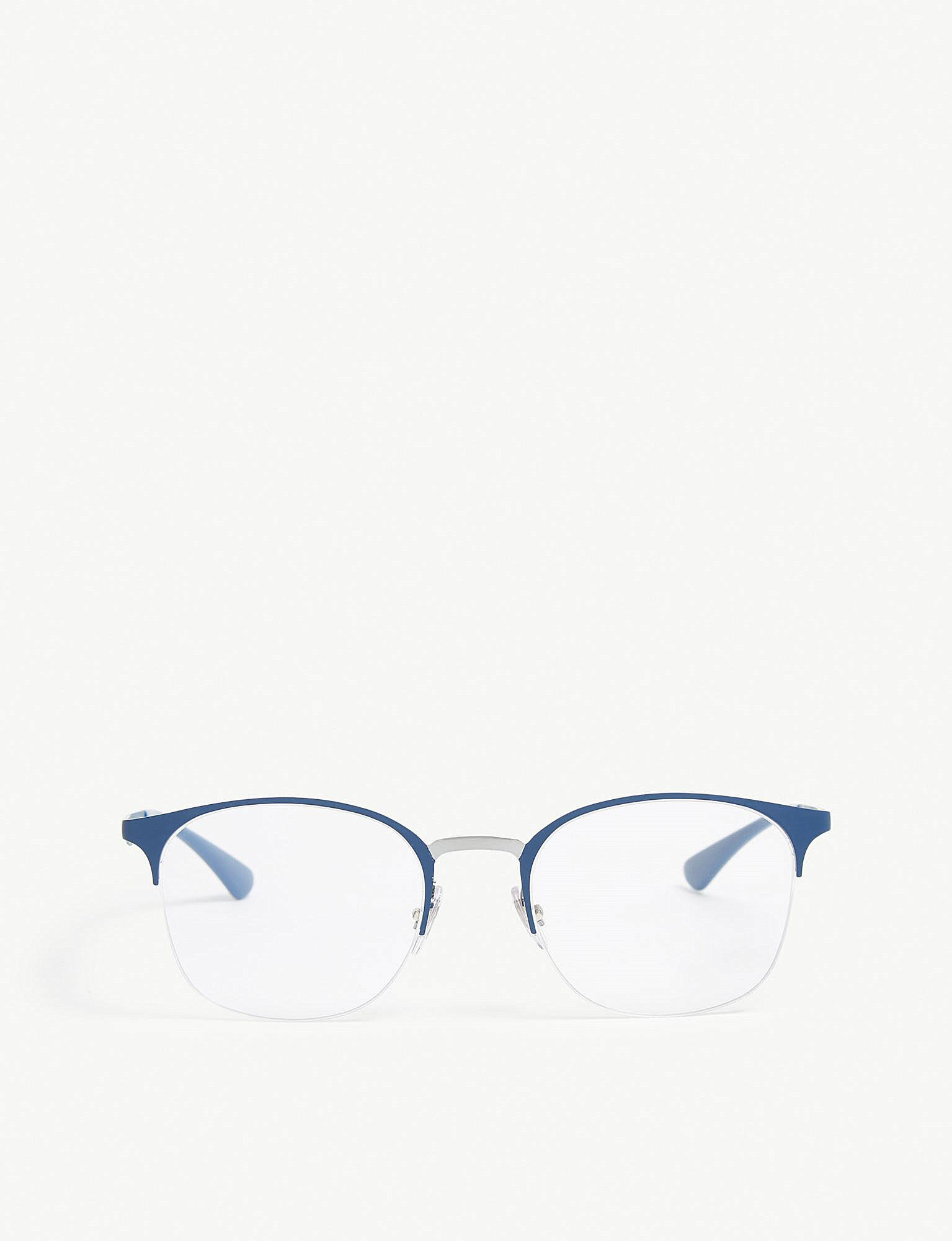 2c9984c94b Lyst - Ray-Ban Rb6422 Square-frame Glasses in Blue