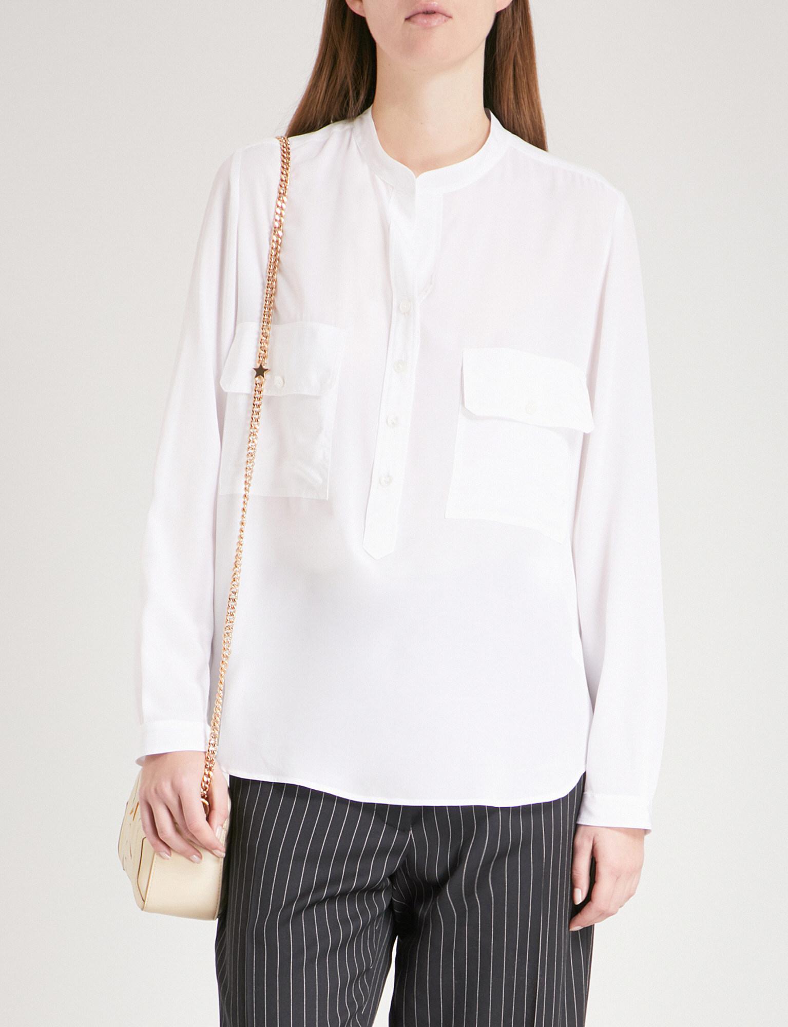 Cheap Sale Recommend Estelle silk shirt Stella McCartney Buy Cheap Browse Discount Sale Online Visit Cheap Price Gyd3p
