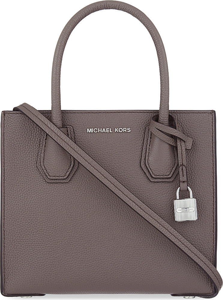 cca6459e88b Lyst - MICHAEL Michael Kors Mercer Small Leather Tote