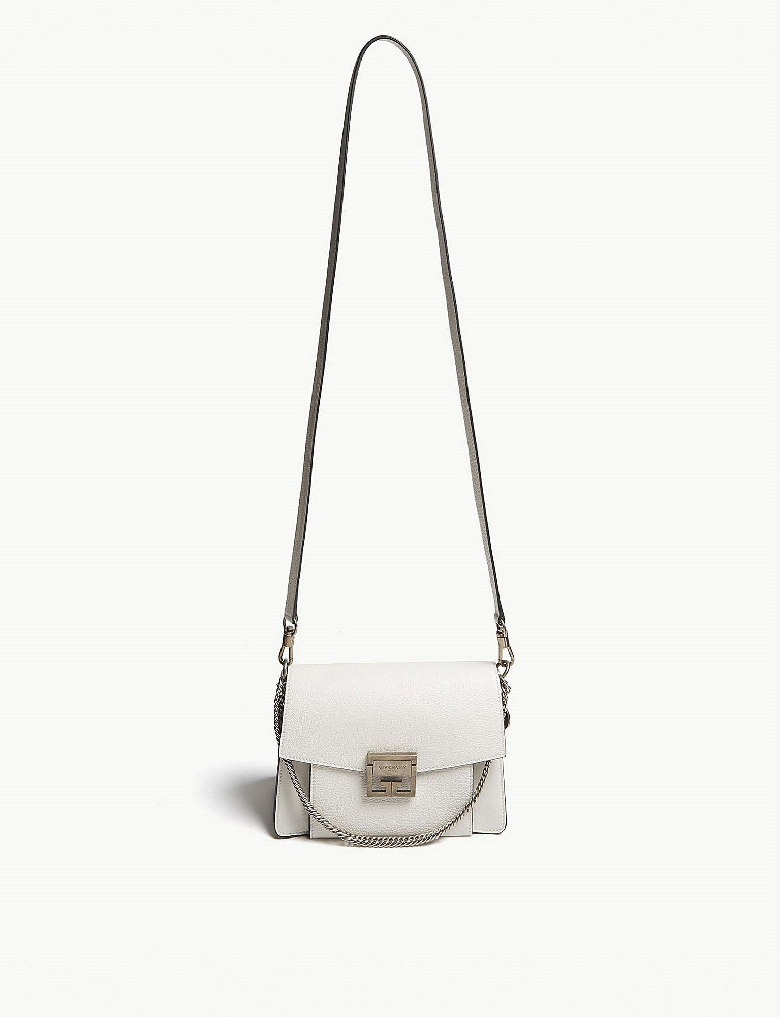 15bc37ab7ee Womens White Gv3 Leather Shoulder Bag best website 607a6 c2656  GIVENCHY ...