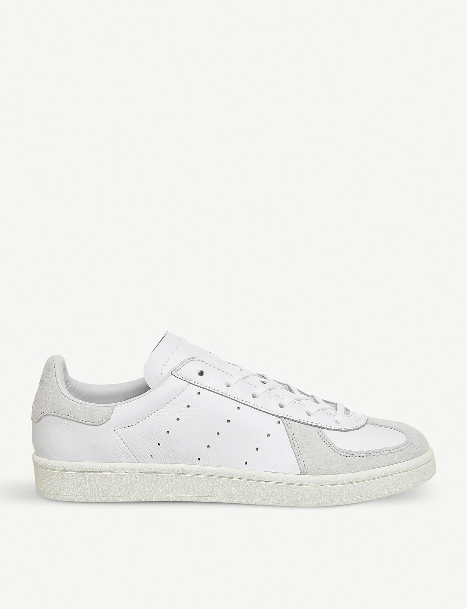 premium selection 22753 3b381 Adidas Bw Avenue Leather And Suede Trainers in White for Men