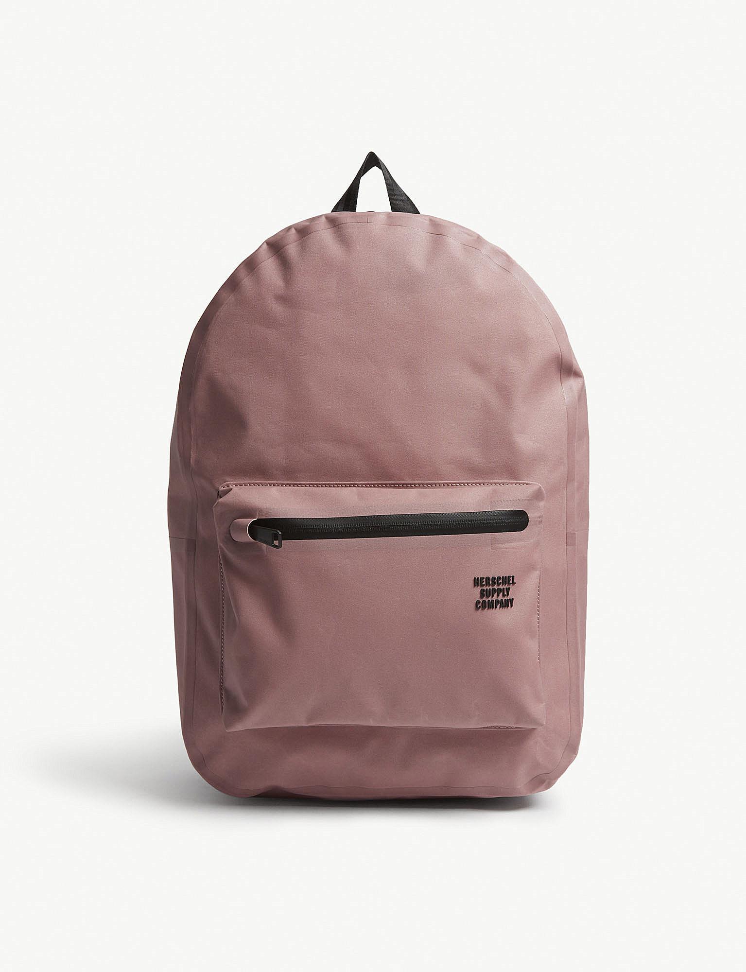 df2dd092ea Herschel Supply Co. . Rose Pink Studio Settlement Tarpaulin Backpack ...