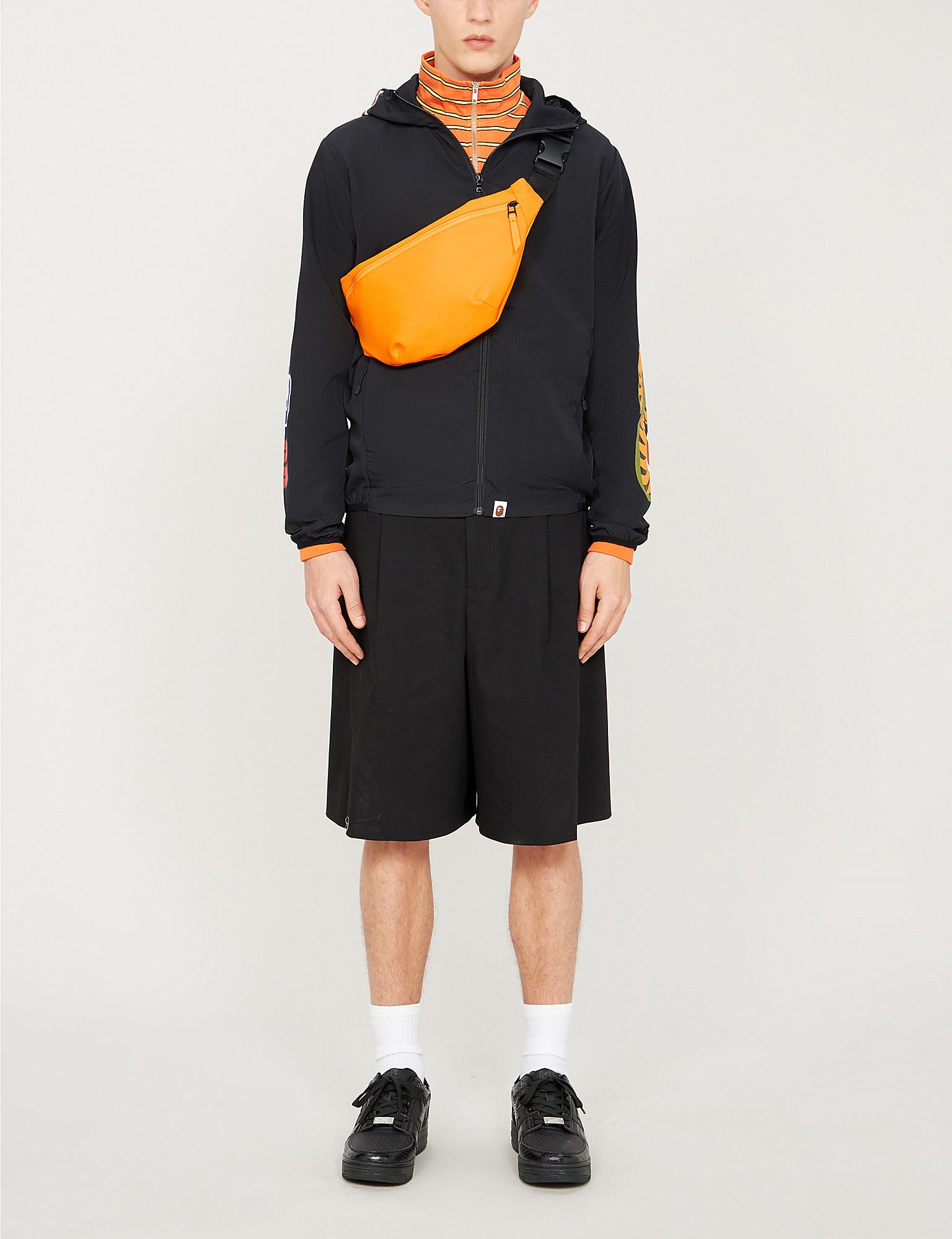 325164d4742 A Bathing Ape Shark Hooded Shell Jacket in Black for Men - Lyst
