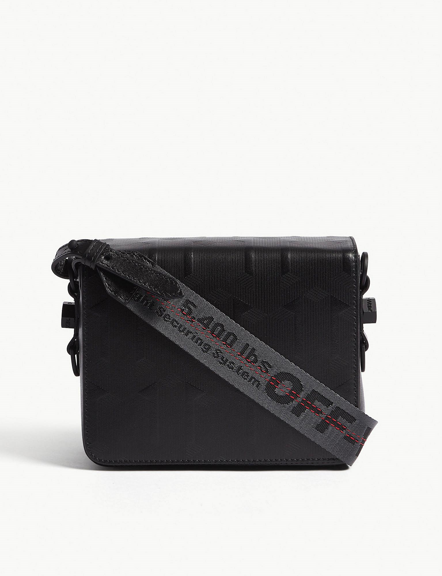 Cheapest Price Sale Online Off-White embossed crossbody Newest bo9zz4OP