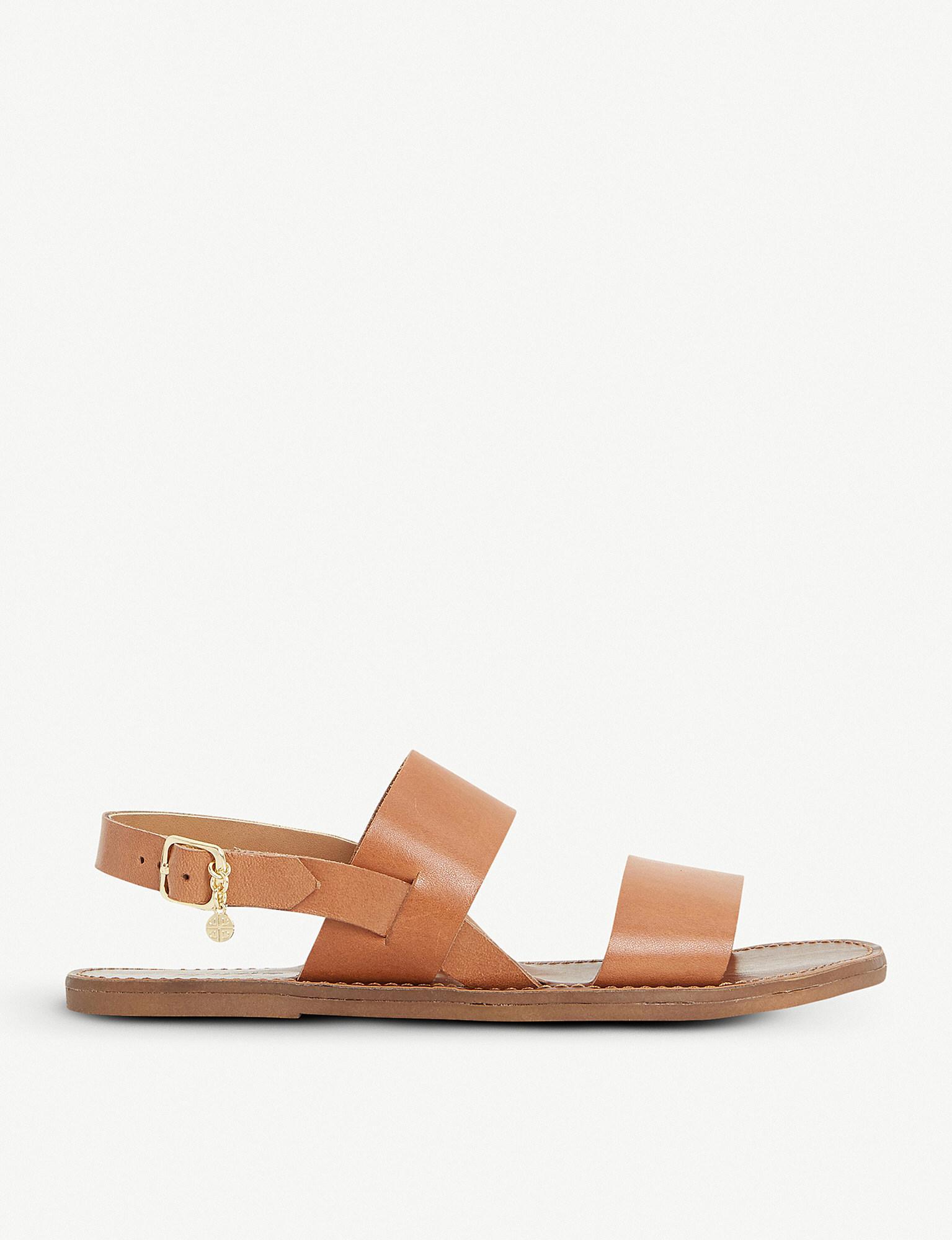 Dune Lowpez Leather Flat Sandal CtomYz8tnQ