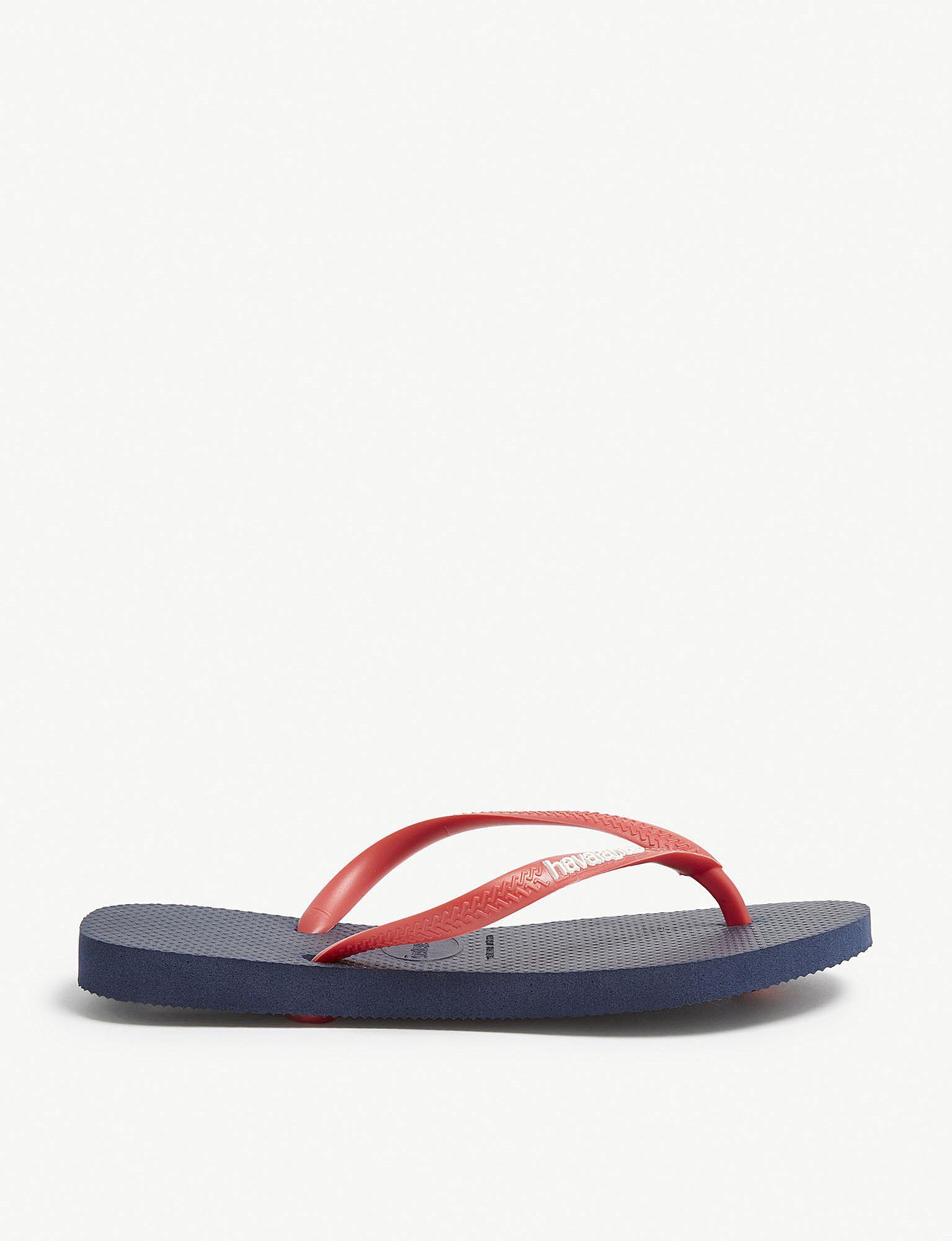 340baa4bff0fc3 Havaianas Slim Rubber Flip-flops in Red - Lyst