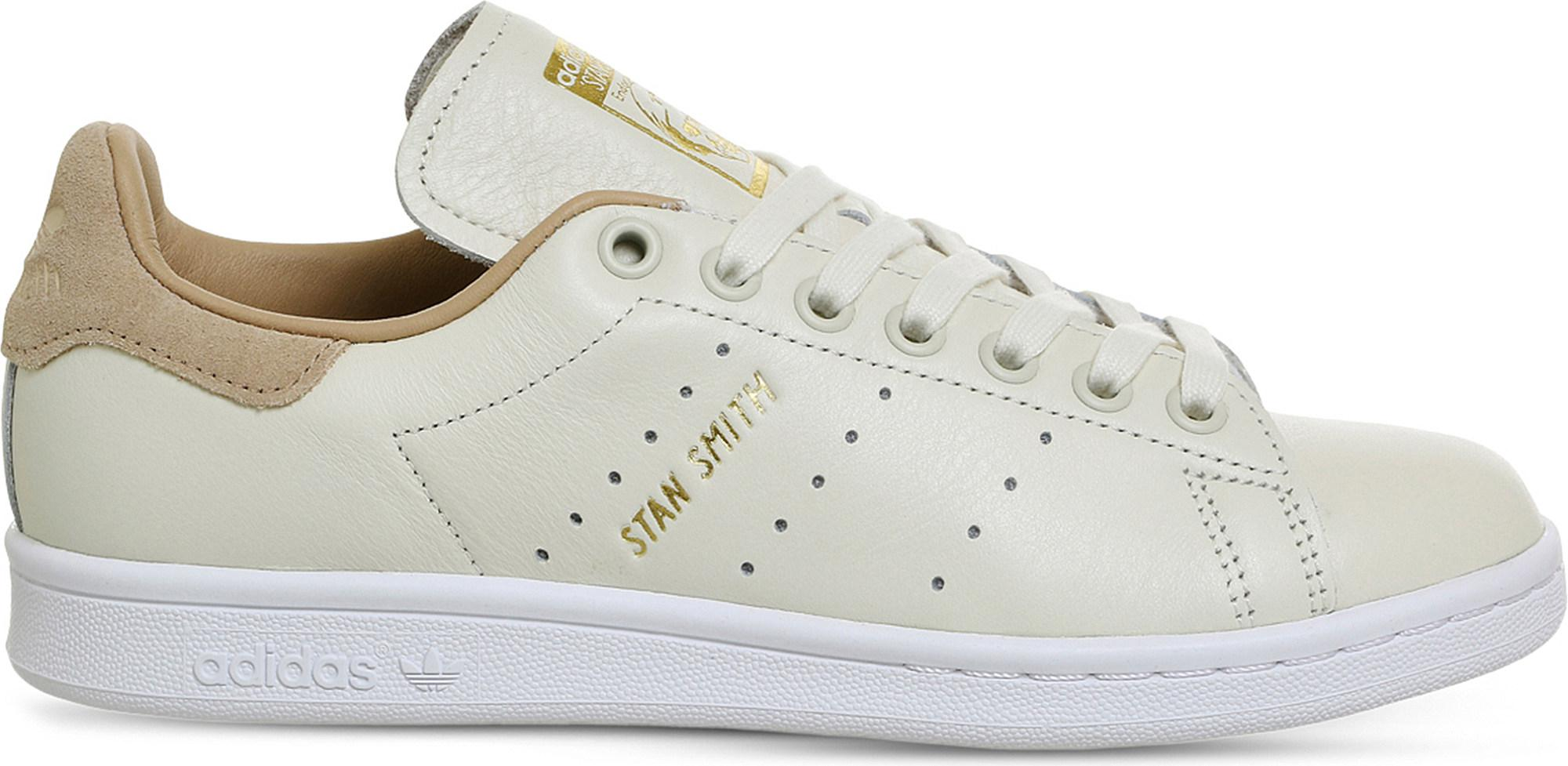 newest 8fe61 603df Lyst - adidas Originals Stan Smith Leather Trainers in White