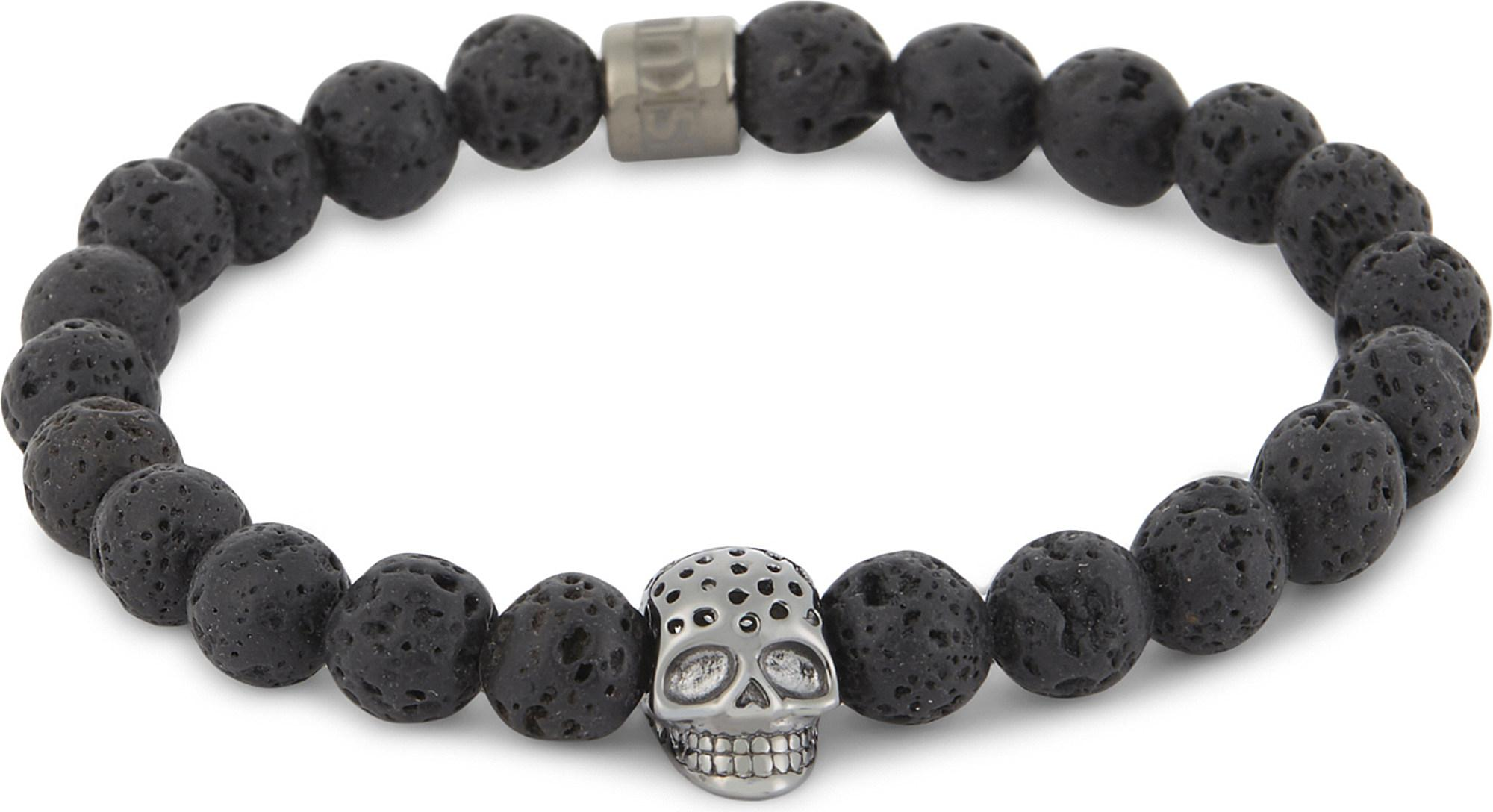 youtube bracelet northskull bracelets edition sterling silver skull style north watch classic