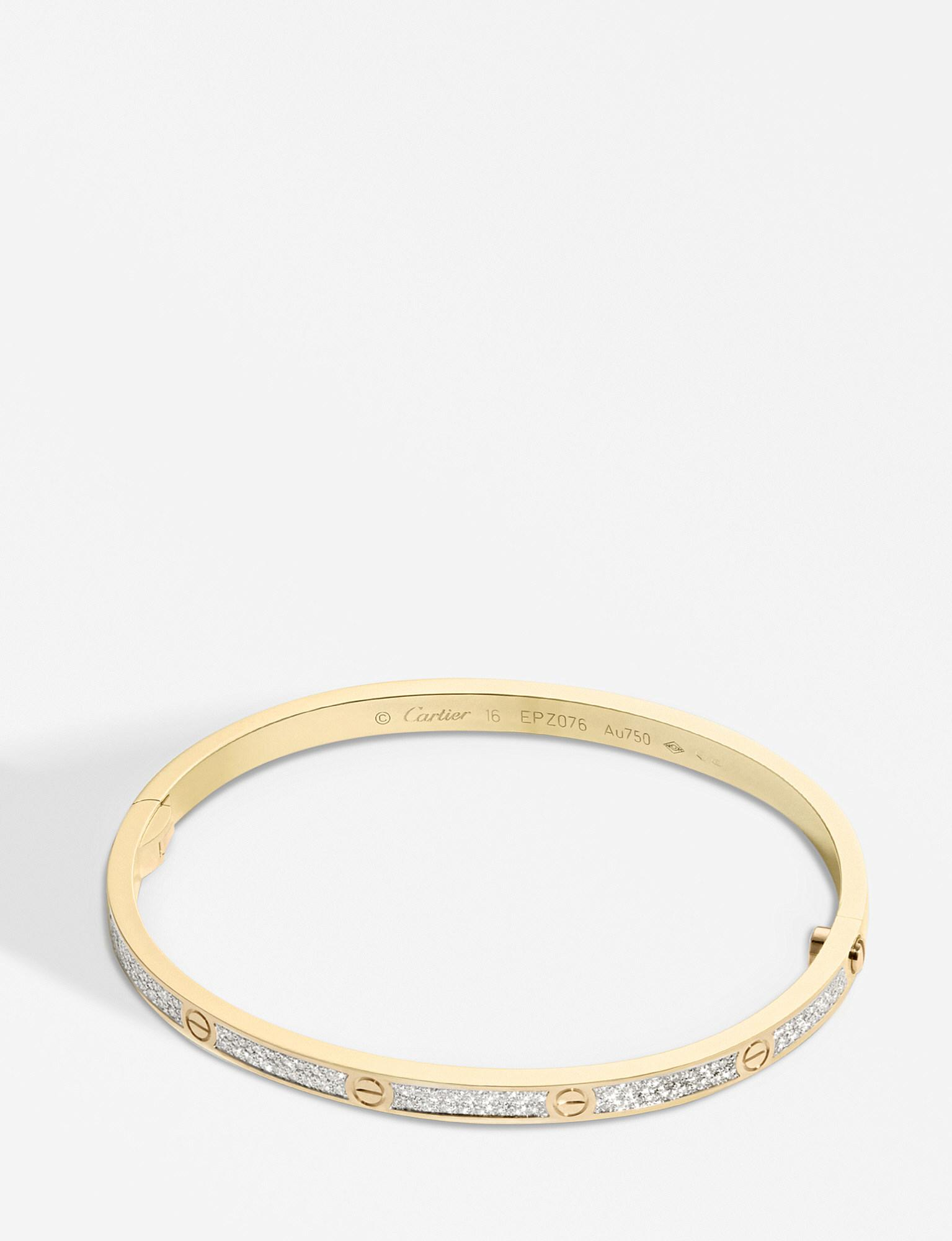 ea153c86773 Gallery. Previously sold at  Selfridges · Women s Cartier Love Bracelet ...