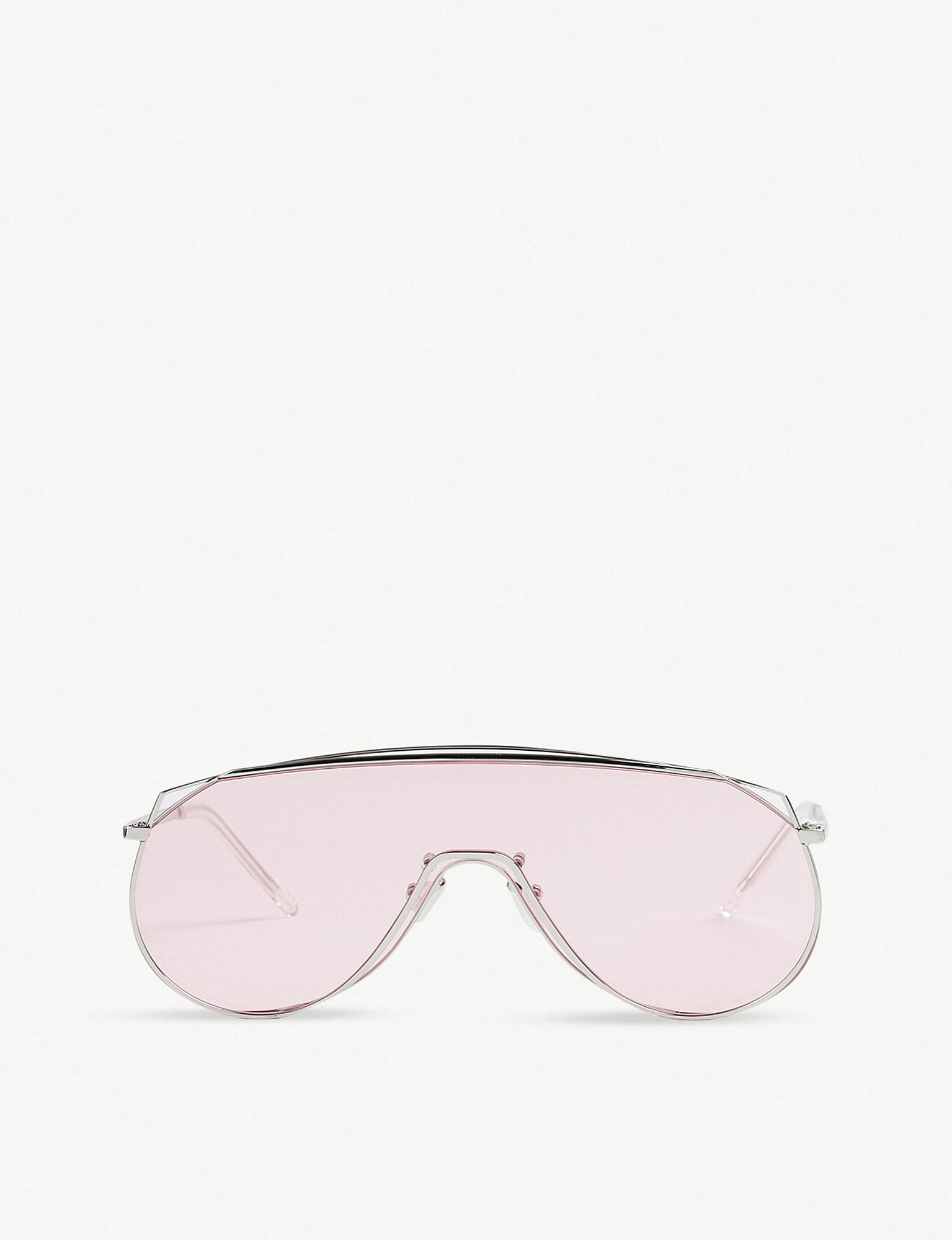 a902ff1ecef Lyst - Gentle Monster Afix Stainless Steel Sunglasses in Pink