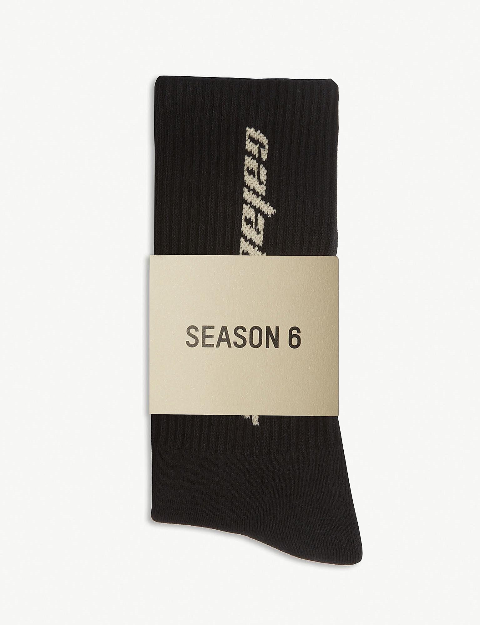 de02b726b Lyst - Yeezy Season 6 Calabasas Cotton Socks Pack Of Three for Men