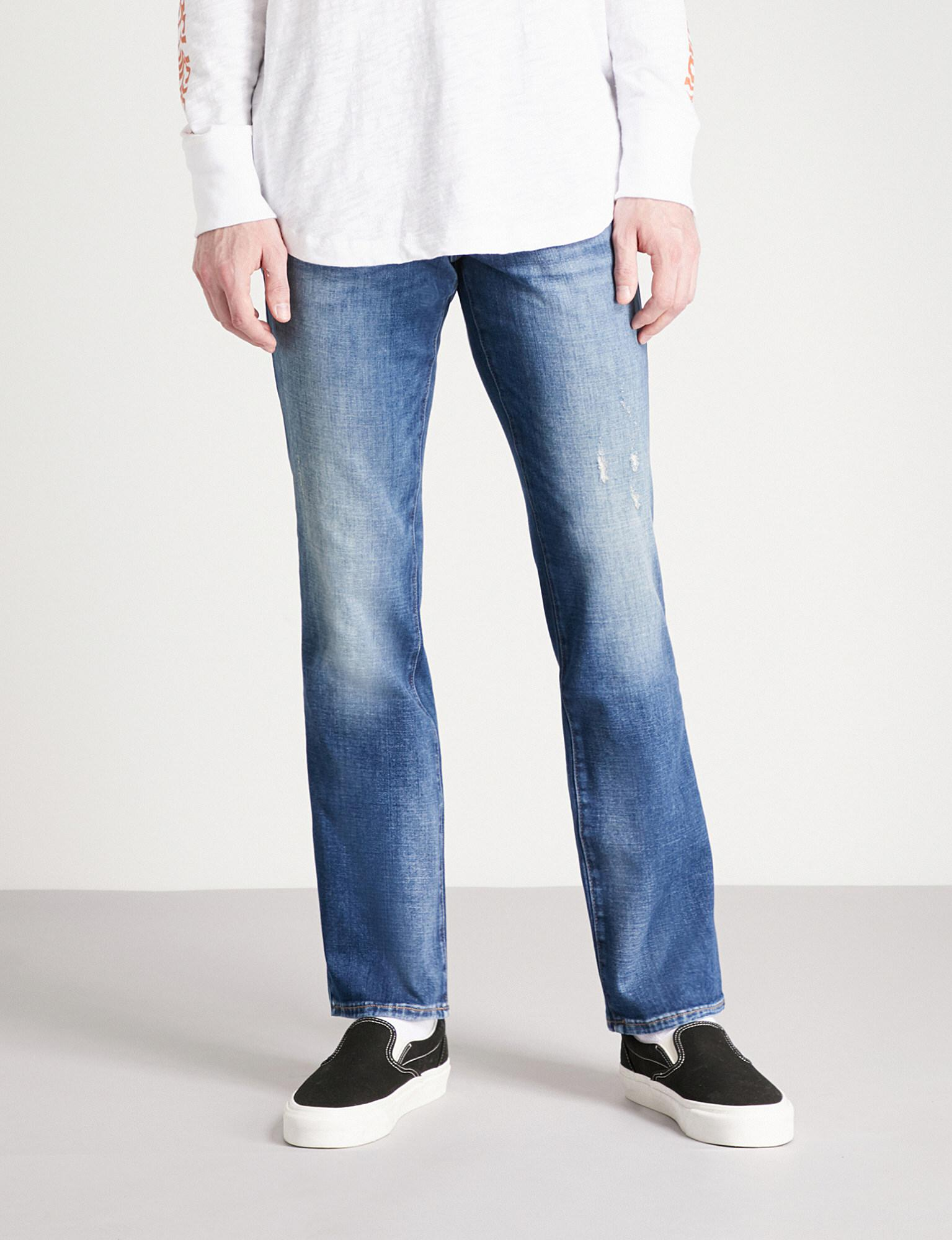 65970c9b60353 True Religion Ricky Relaxed-fit Slim Jeans in Blue for Men - Lyst