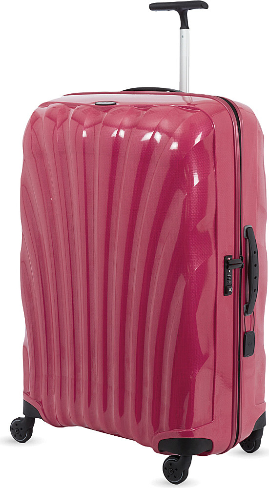 Samsonite Cosmolite Four-wheel Spinner Suitcase 86cm in Pink for ...
