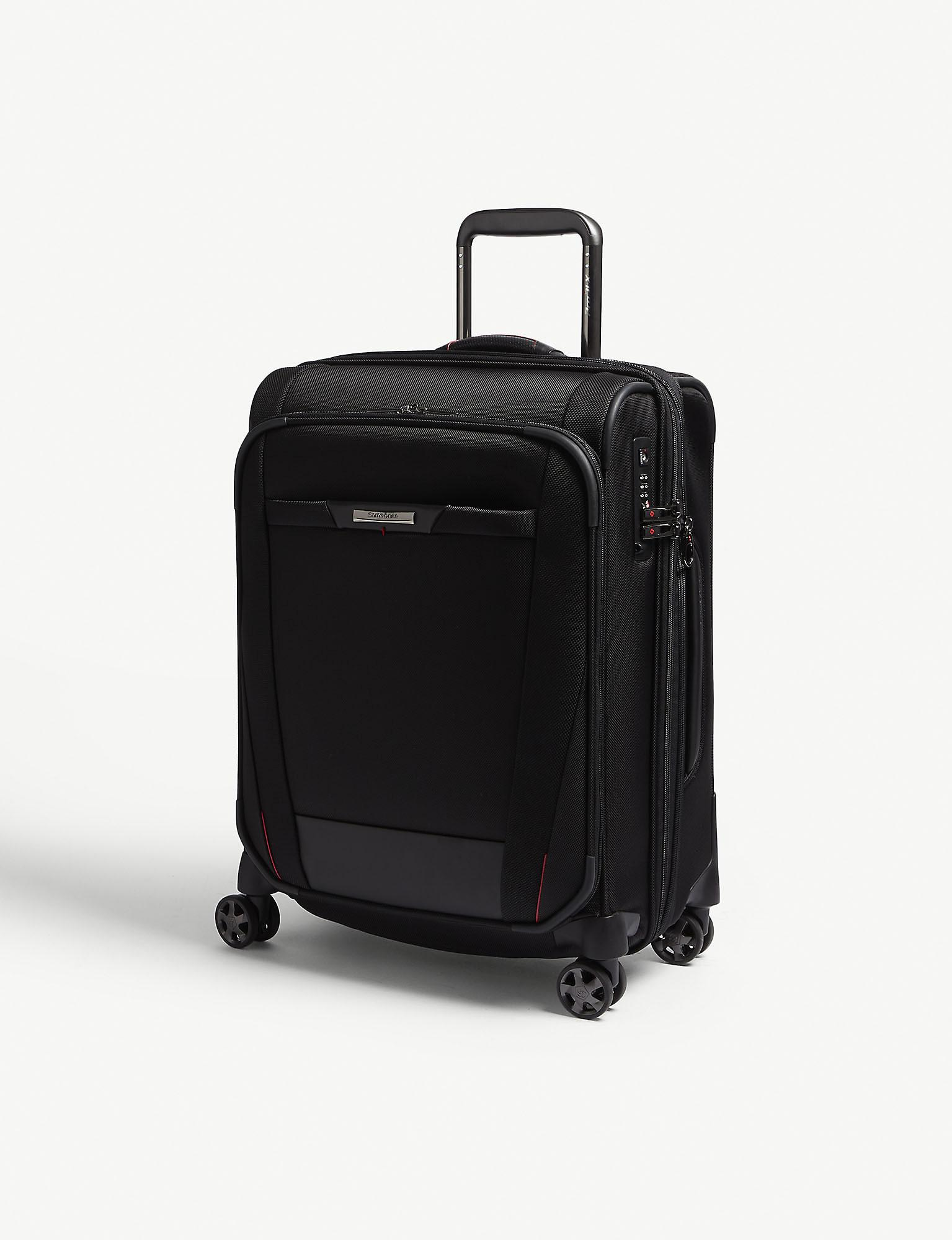 4ac90bbe Samsonite Black Pro Dlx 5 Spinner Cabin Size Suitcase in Black for ...