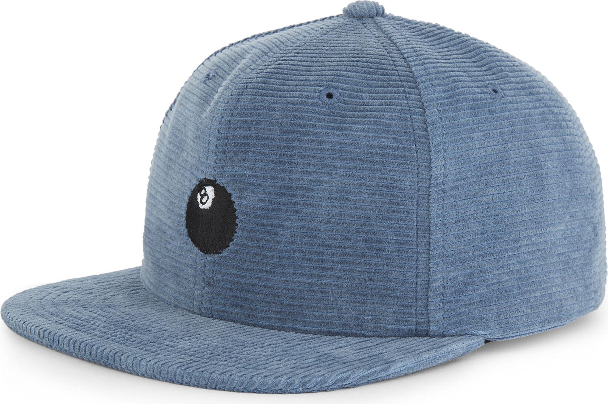 5f8a62557 Stussy 8 Ball Corduroy Strapback Cap in Blue for Men - Lyst