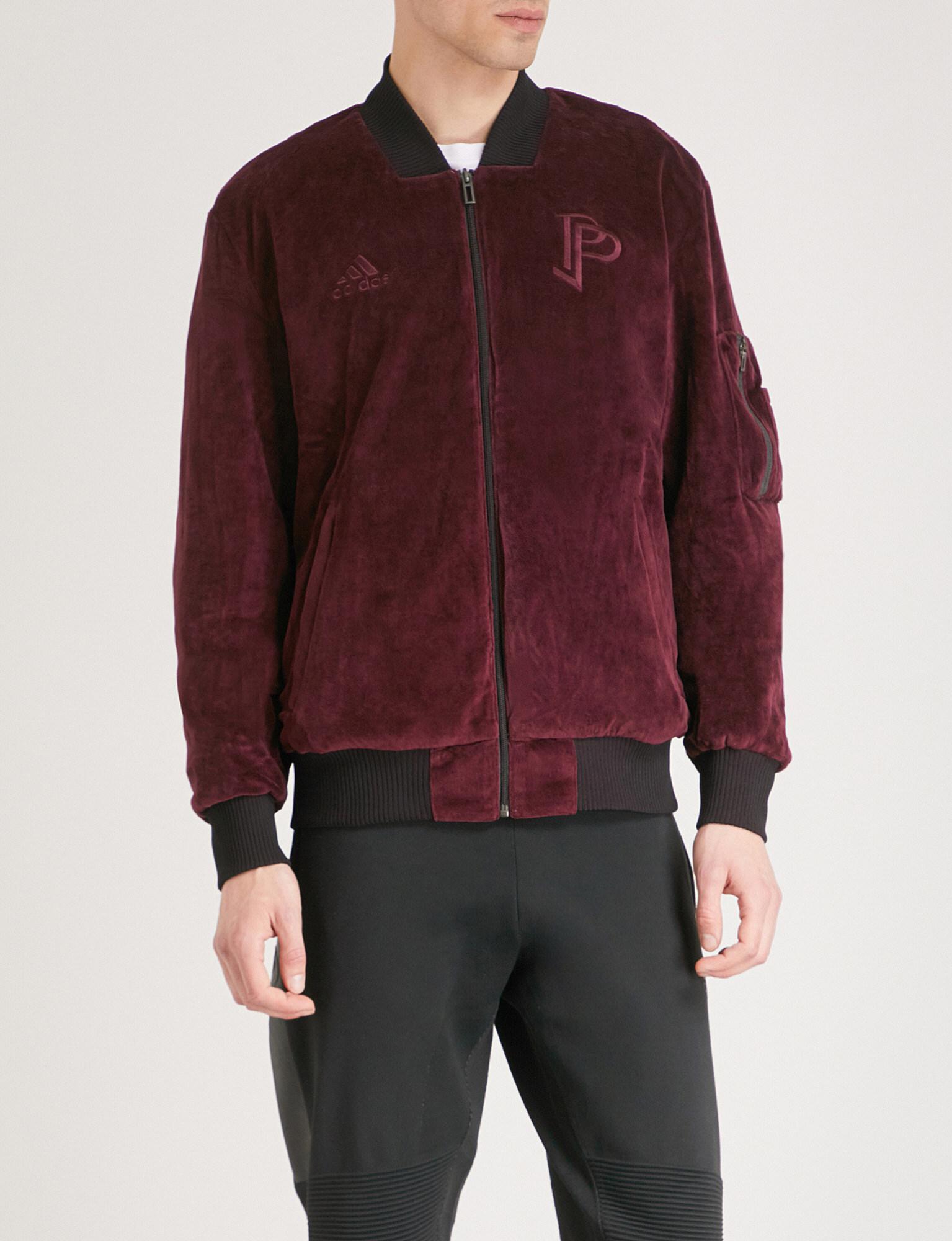 6e74a0a6c540 adidas paul pogba reversible velvet bomber jacket for men – lyst. Download  Image 1535 X 2000