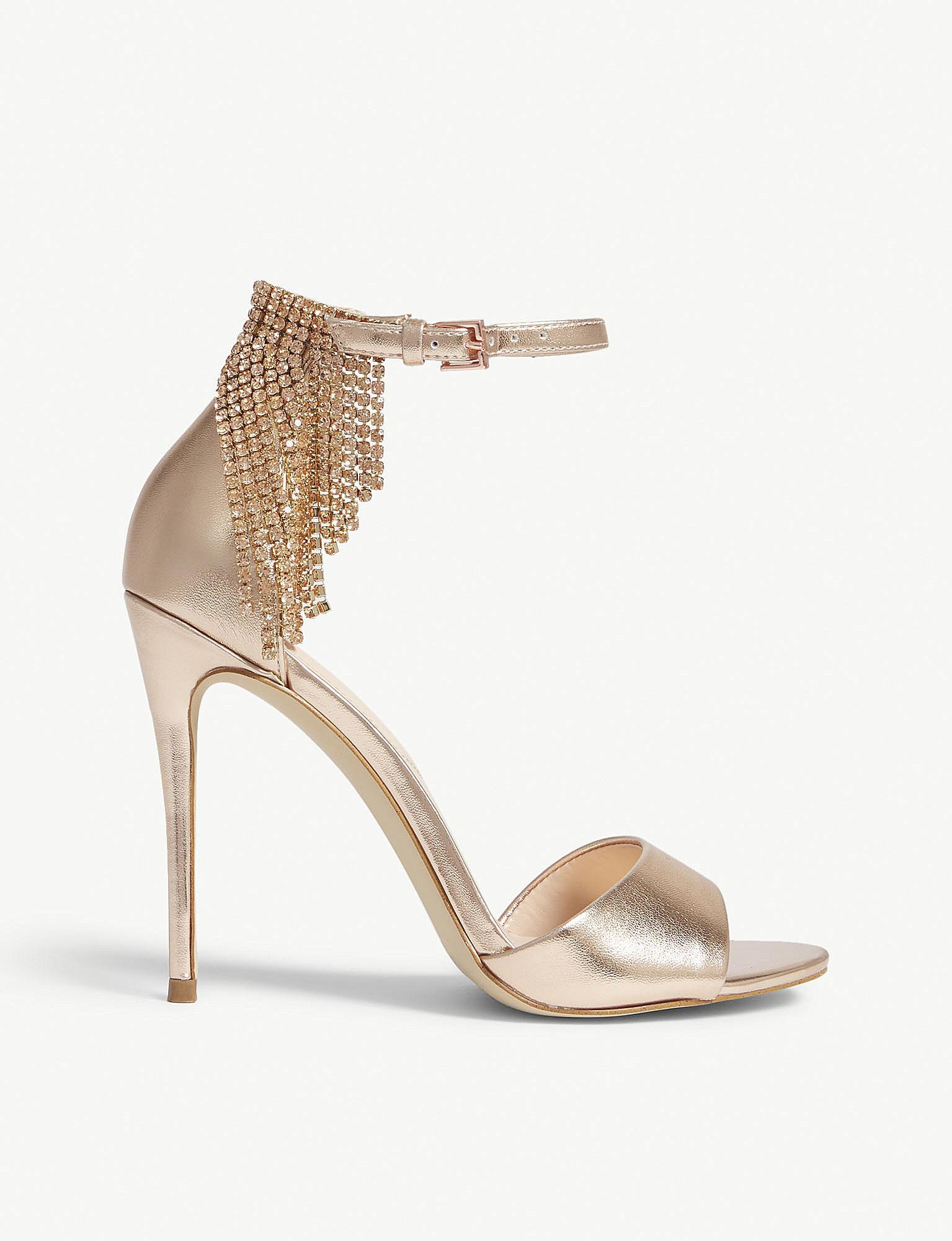 3e5ec6bae6a Lyst aldo batavia rhinestone ankle strap sandals in metallic jpg 1535x2000  Aldo clear sandals