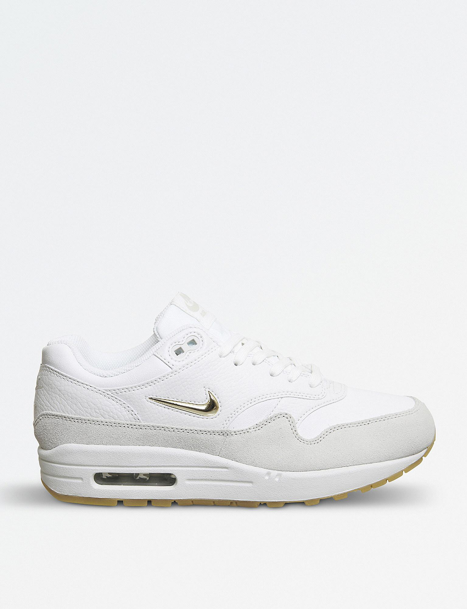 official photos 2923e 97043 Nike - White Air Max Jewell Leather Trainers - Lyst