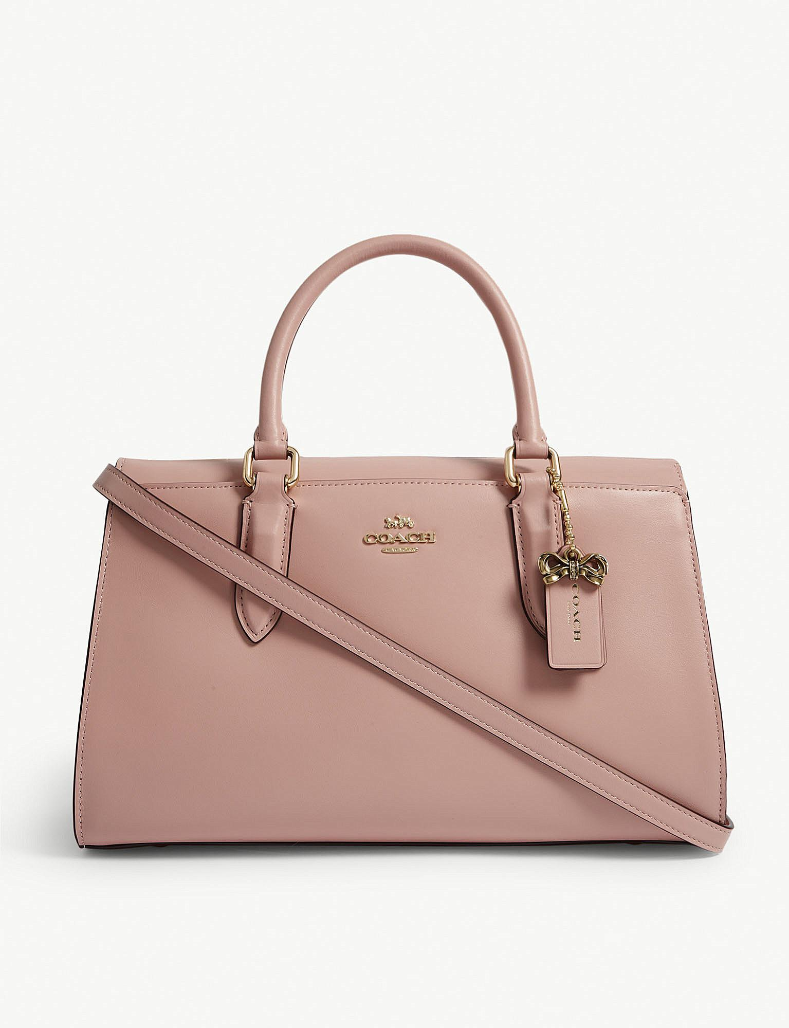 d53866aeaf COACH Selena X Bond Bag in Pink - Lyst