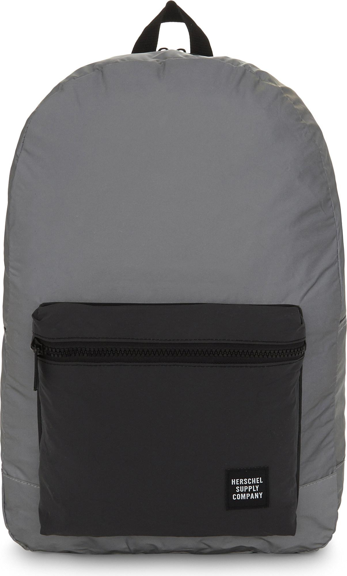 Lyst - Herschel Supply Co. Day night Packable Daypack Reflective ... 5054fa42114b1