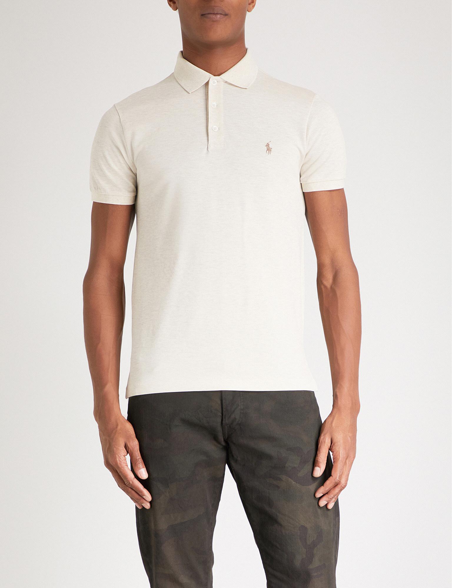 Slim-fit Pima Cotton-jersey Polo Shirt Polo Ralph Lauren Shop Offer For Sale 100% Guaranteed Cheap Online Buy Cheap Cheapest 040qWxXQ