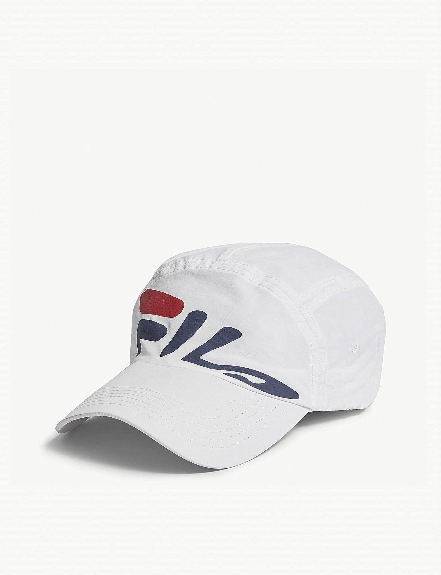 868d556b889 Fila - White Mindblower Nylon Baseball Cap for Men - Lyst. View fullscreen