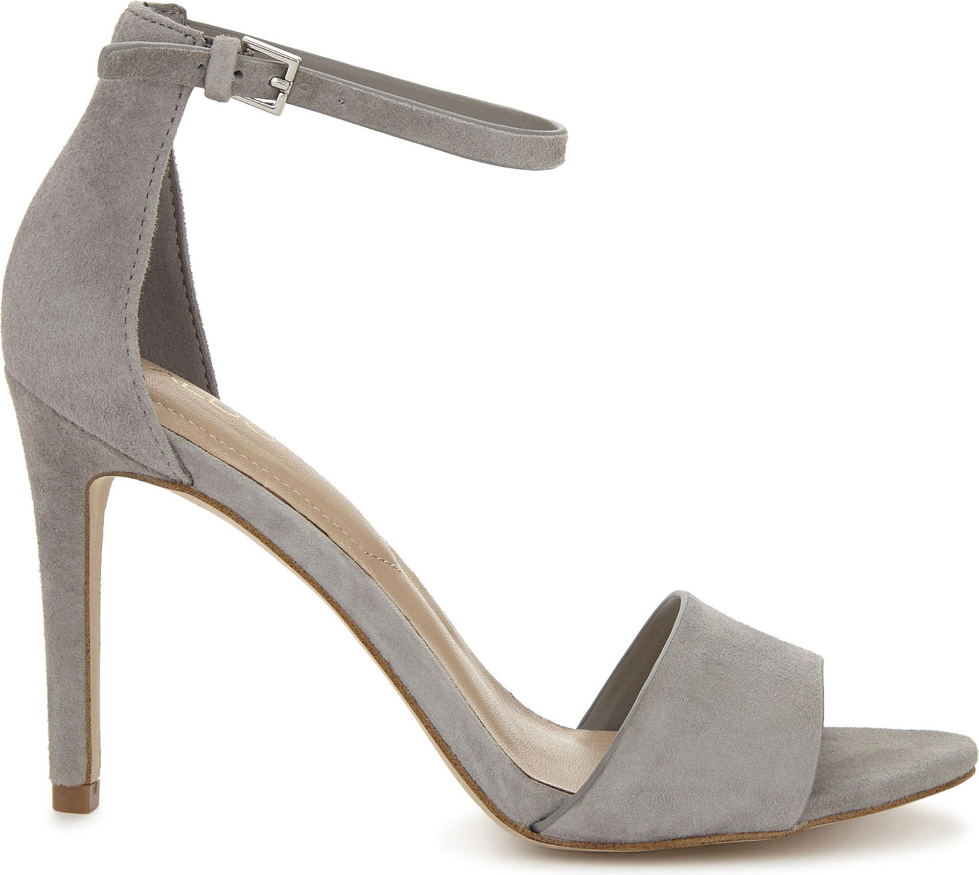 f10dcc47d58 ALDO Fiolla Suede Heeled Sandals in Blue - Lyst