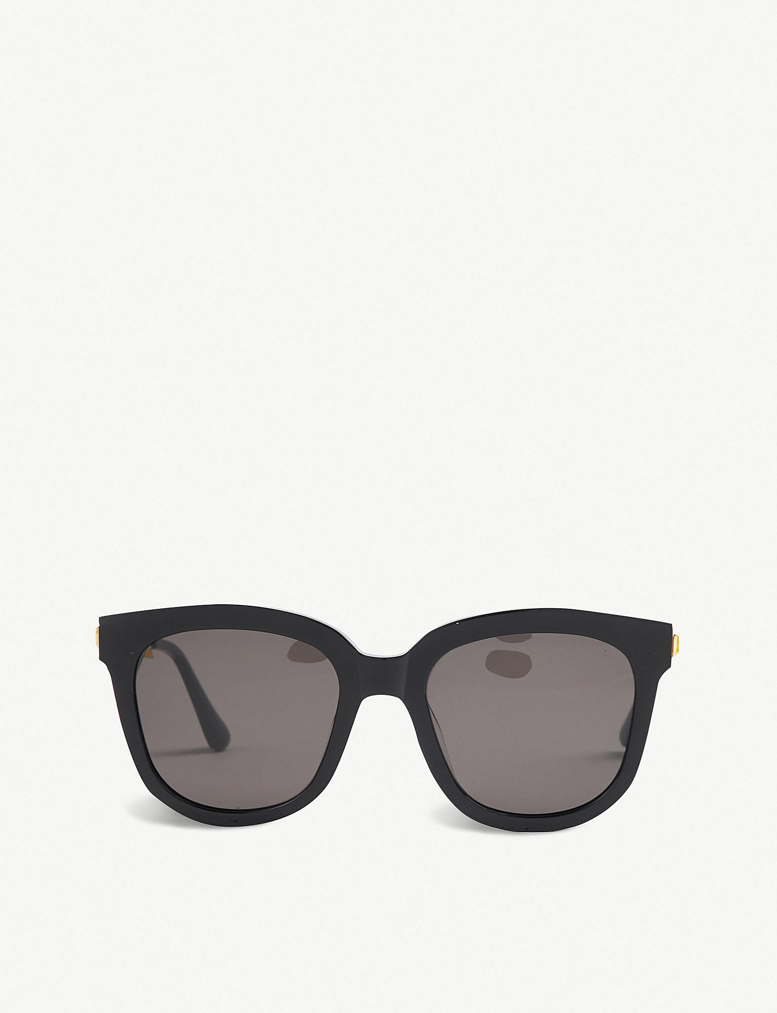 5c06863ad7d8 Gentle Monster Absente Acetate Sunglasses in Black - Lyst